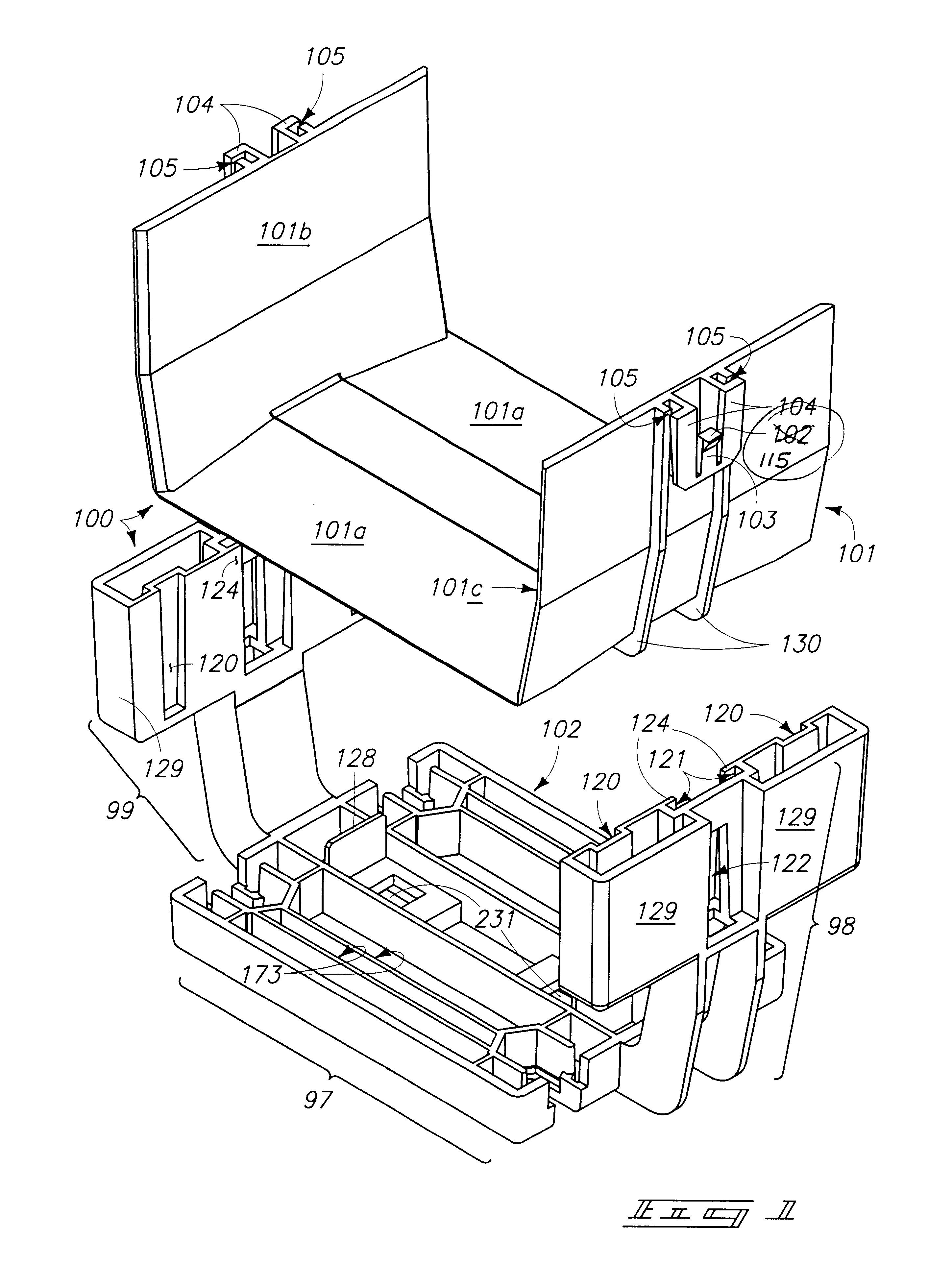 patent us6424779 - fiber trough coupling system