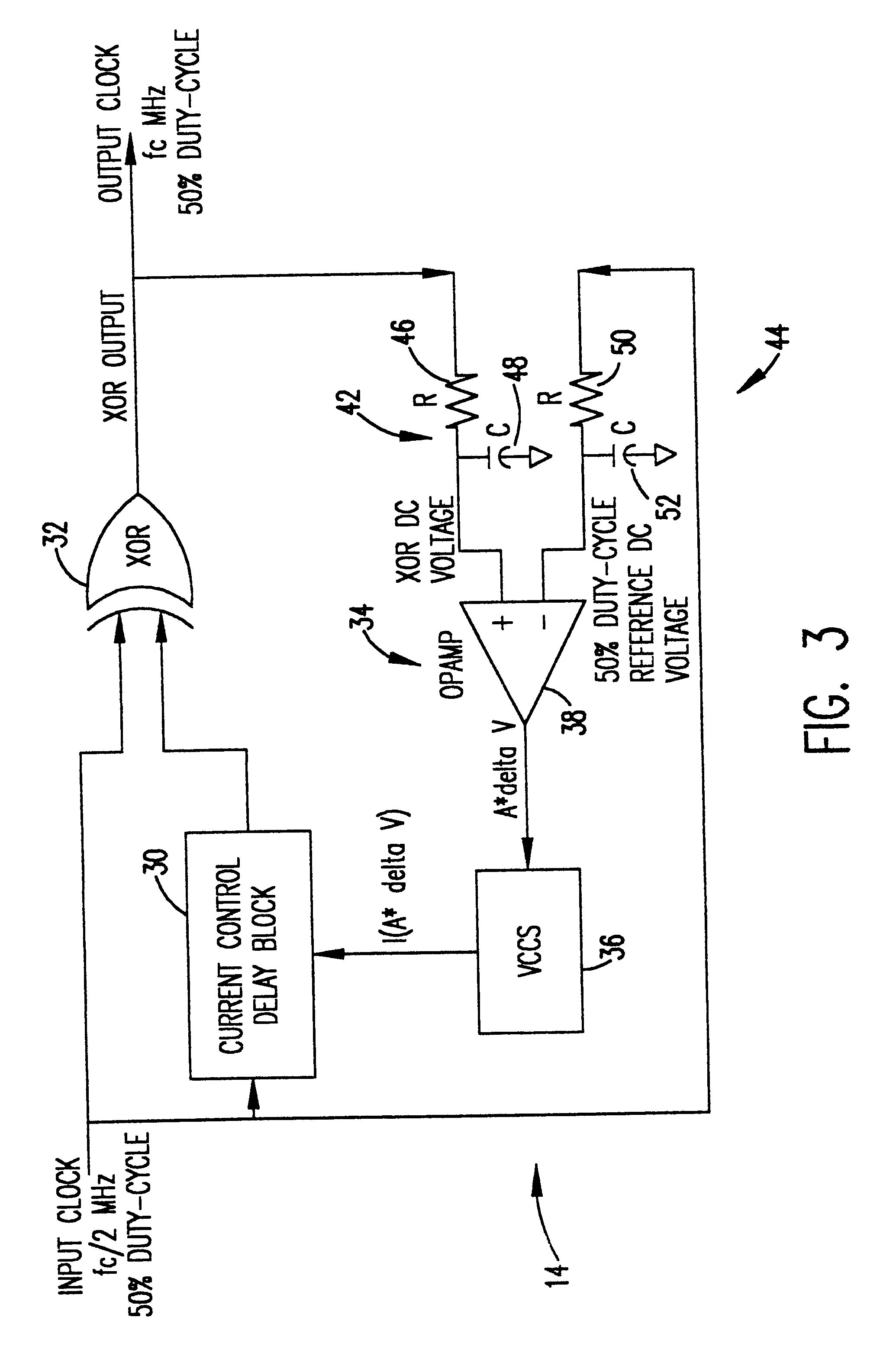 patent us6426660 - duty-cycle correction circuit