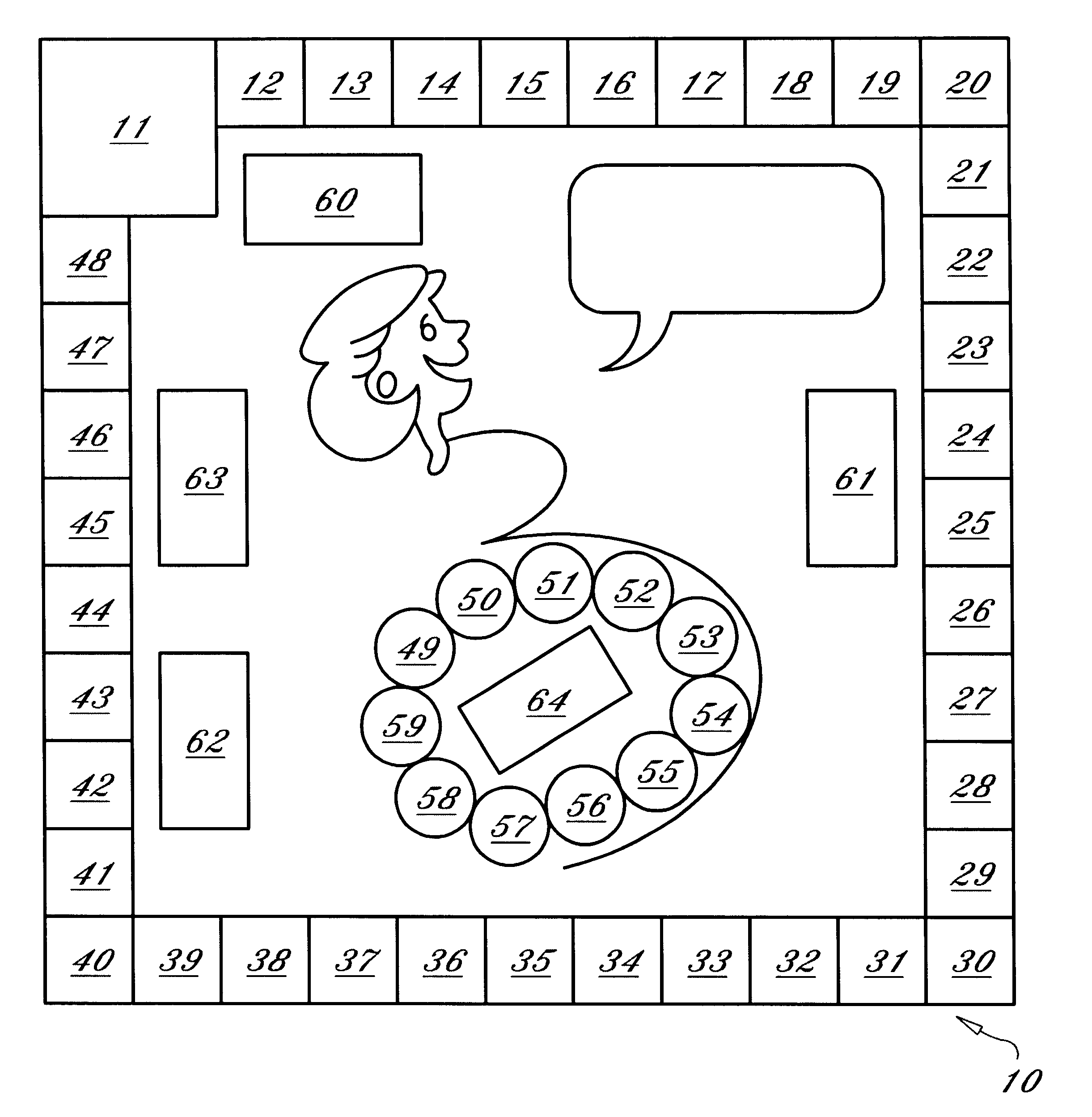 how to get a board game patent