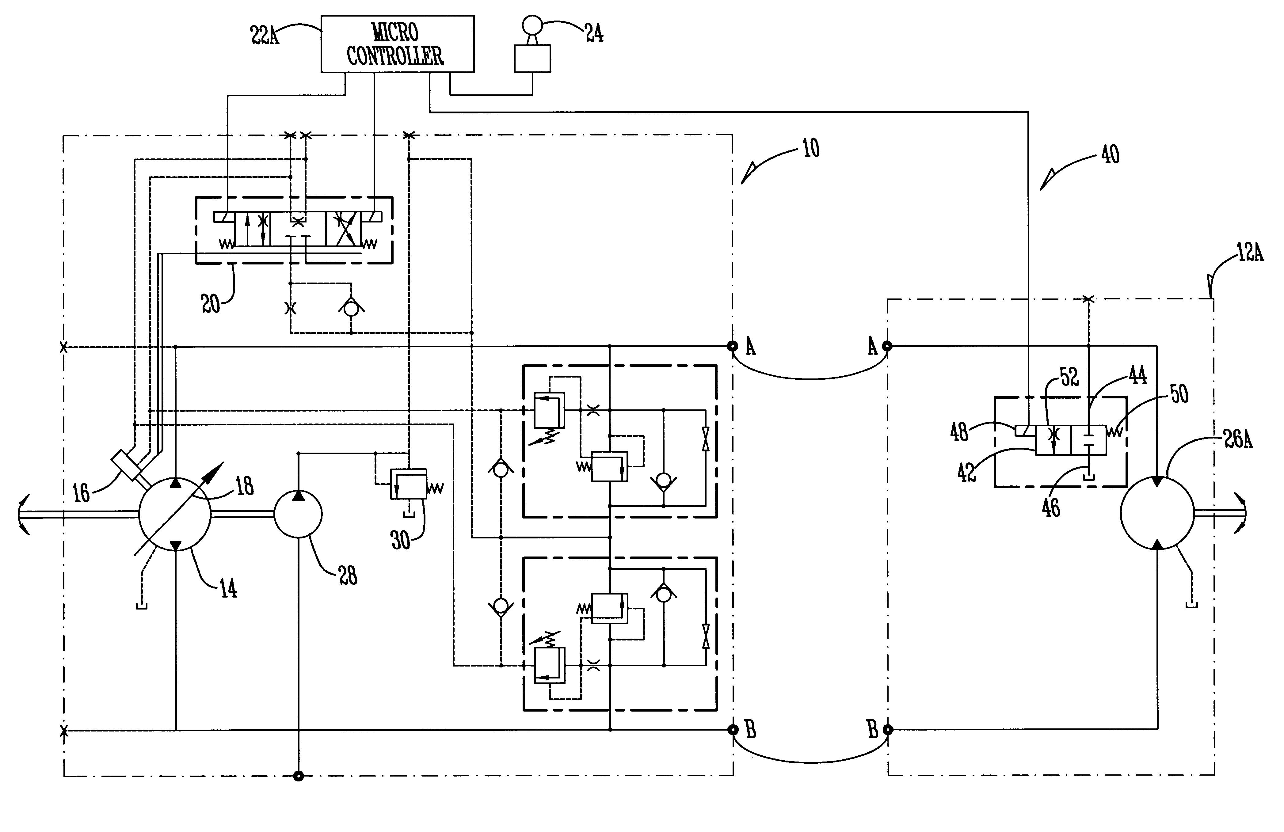 new hydraulic pump case drain
