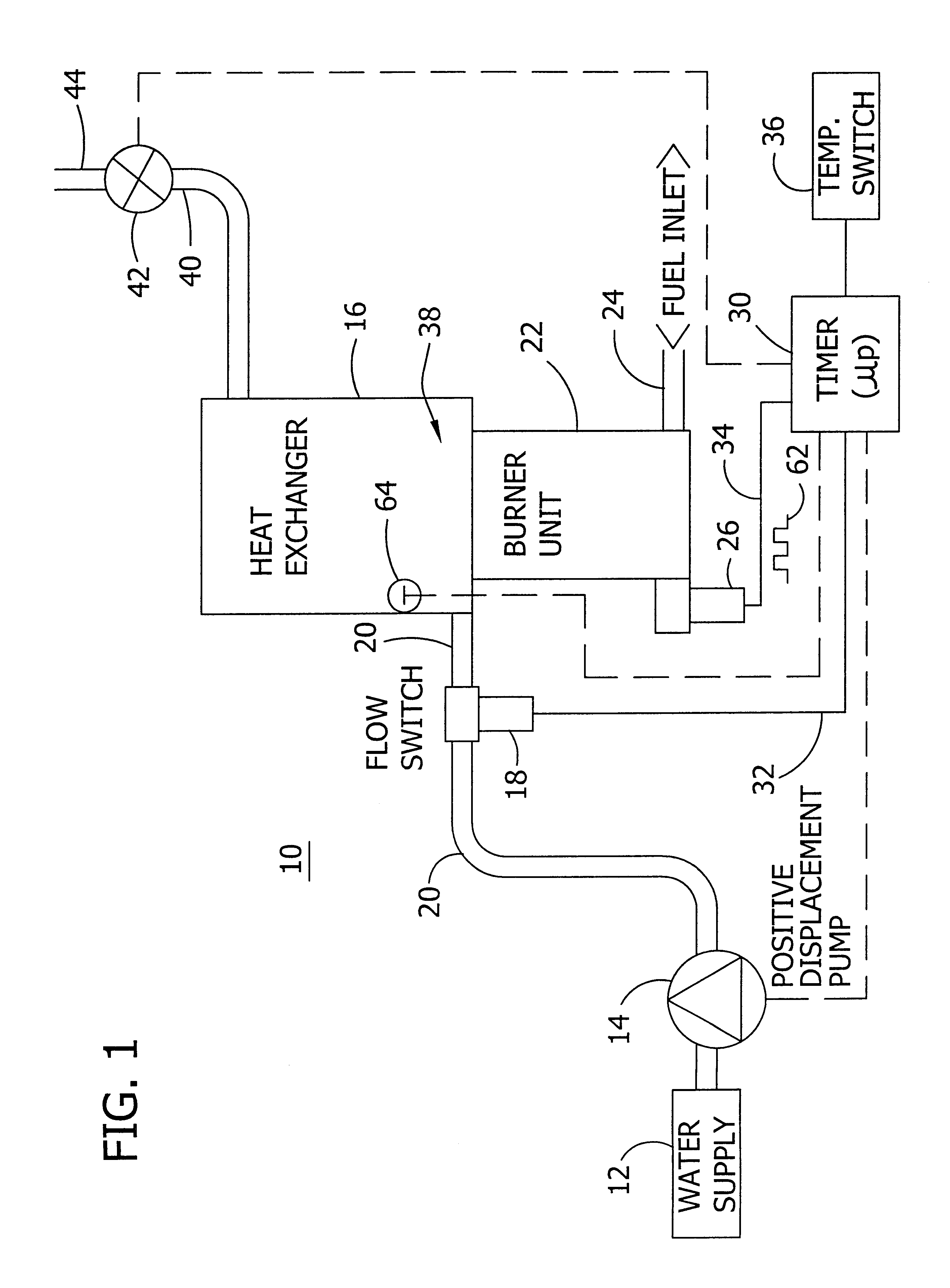 Boiler Steam Pressure Washer Wiring Diagram Diagrams Residential Hot Cleaner Ice Machine Thermostat
