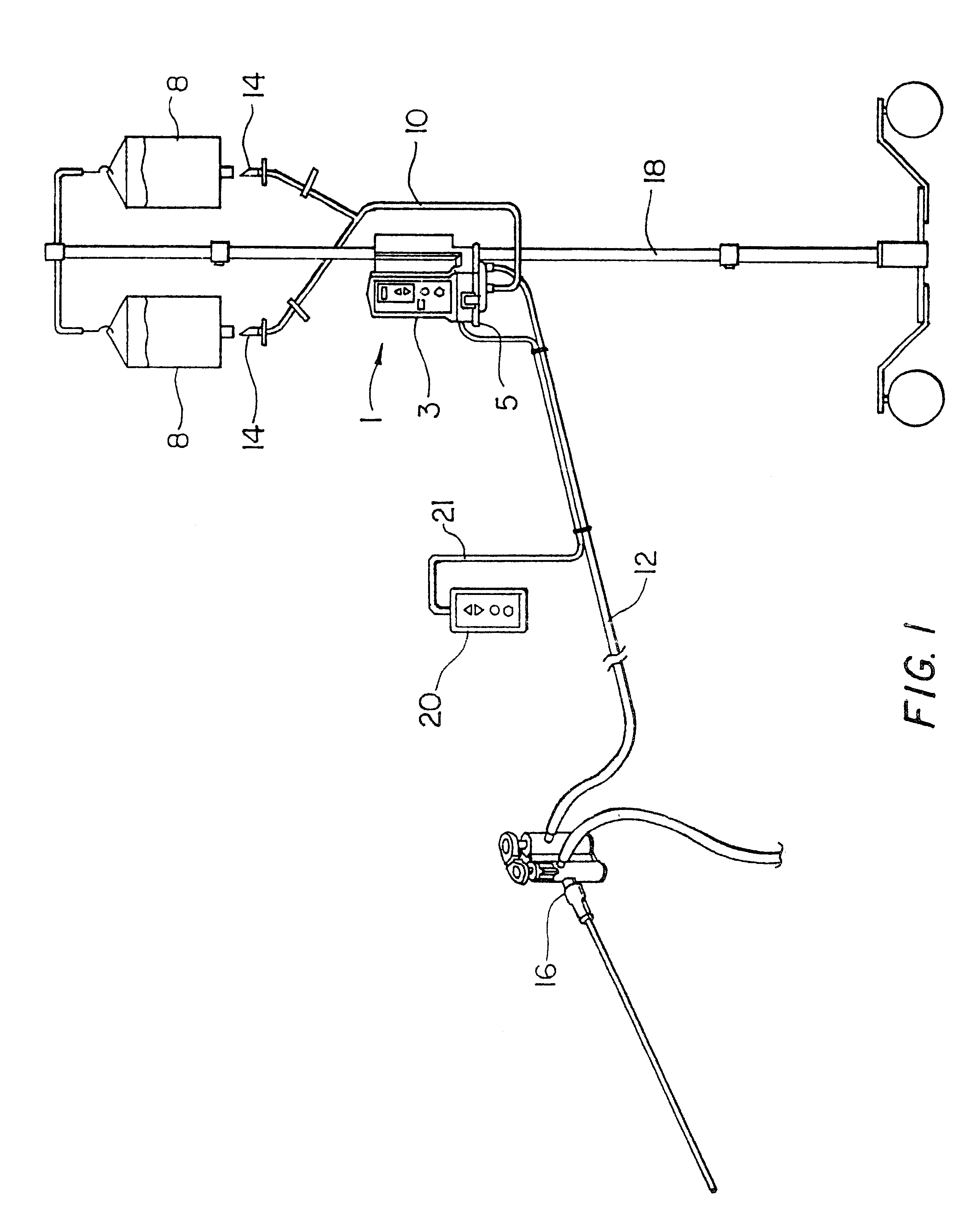 patent us6436072 medical irrigation pump and system