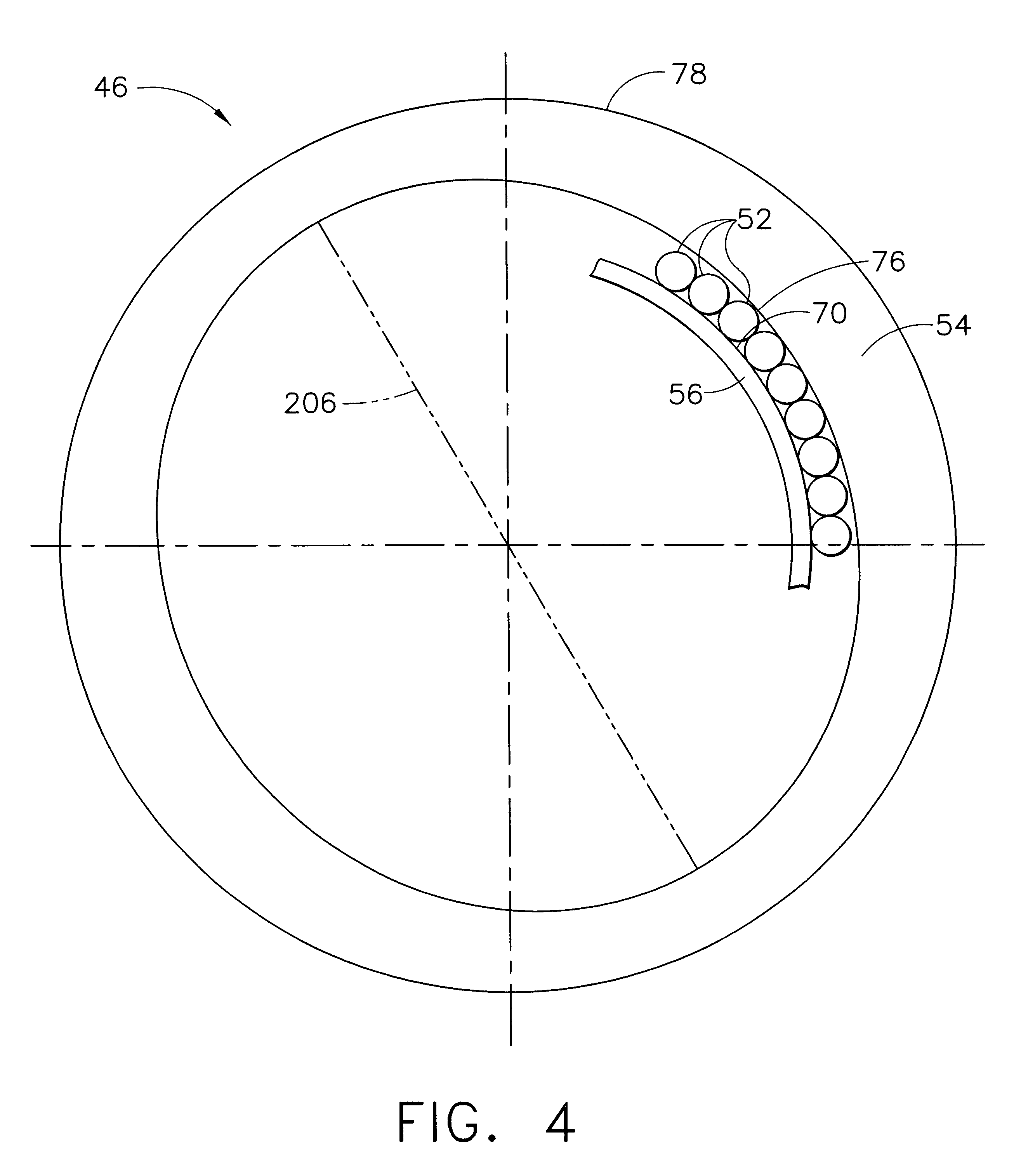 patent us6439772 method and apparatus for supporting rotor CF34- 10E patent drawing