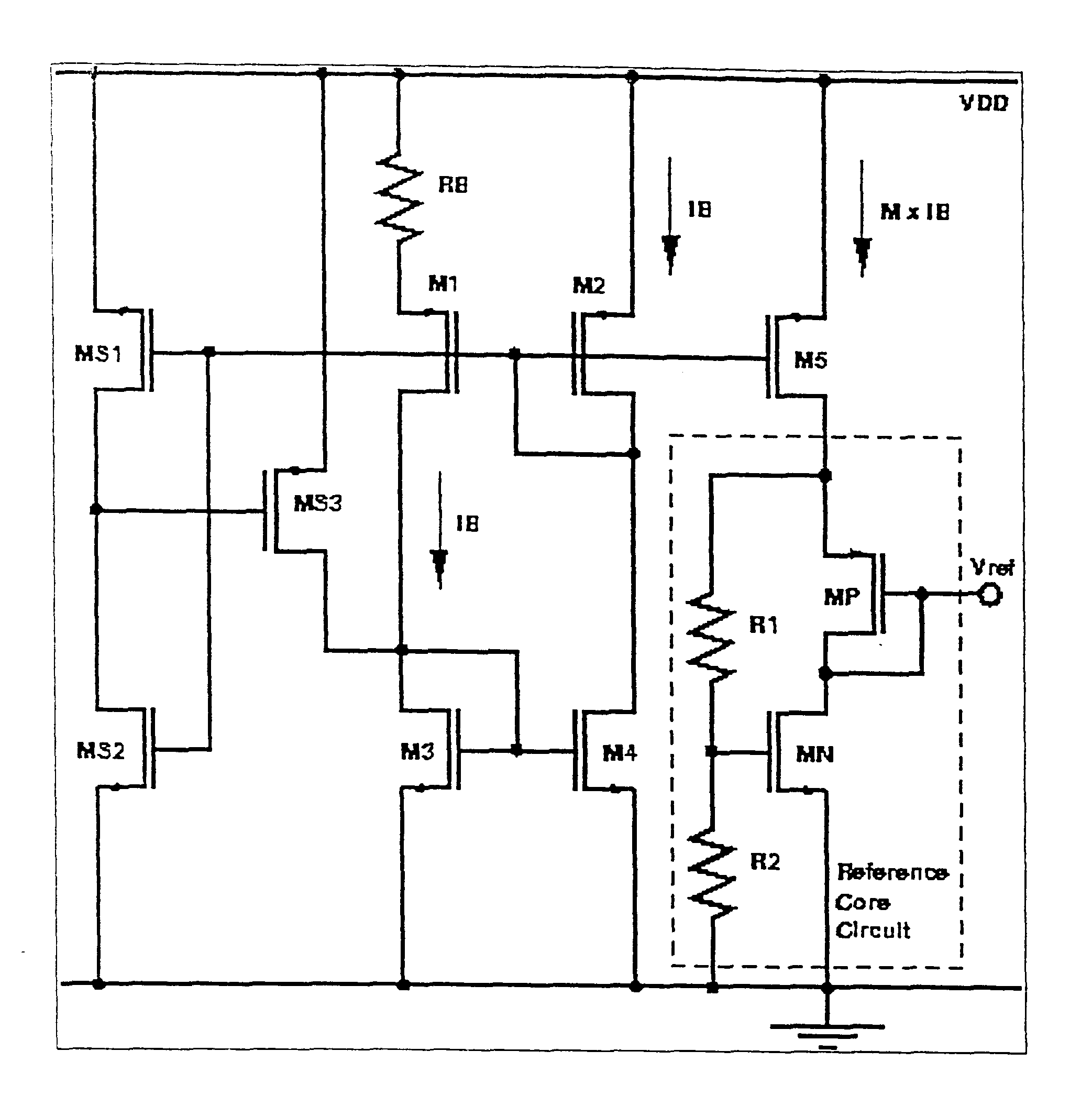 patent us6441680 - cmos voltage reference