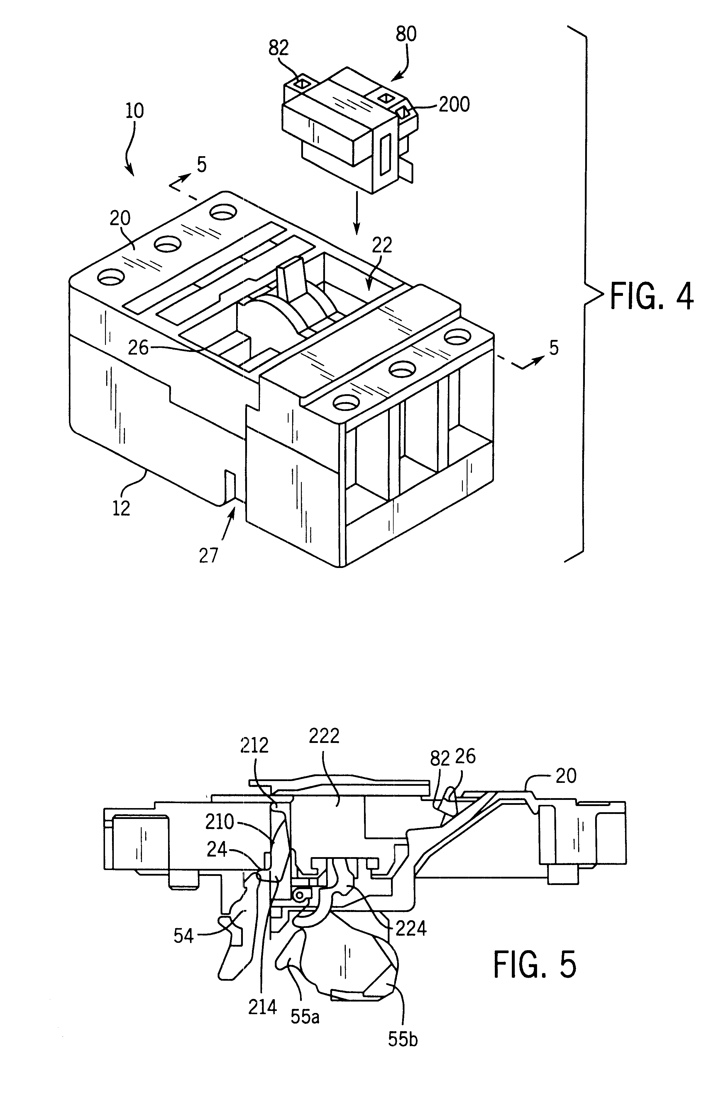patent us6441708 - shunt trip device for a molded case circuit breaker