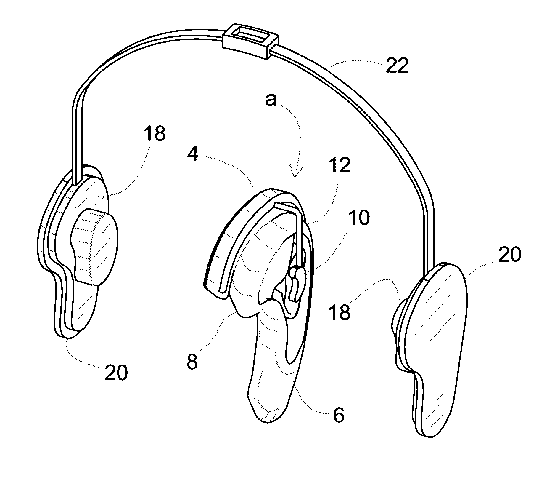 patent us6445805 - hearing aid assembly