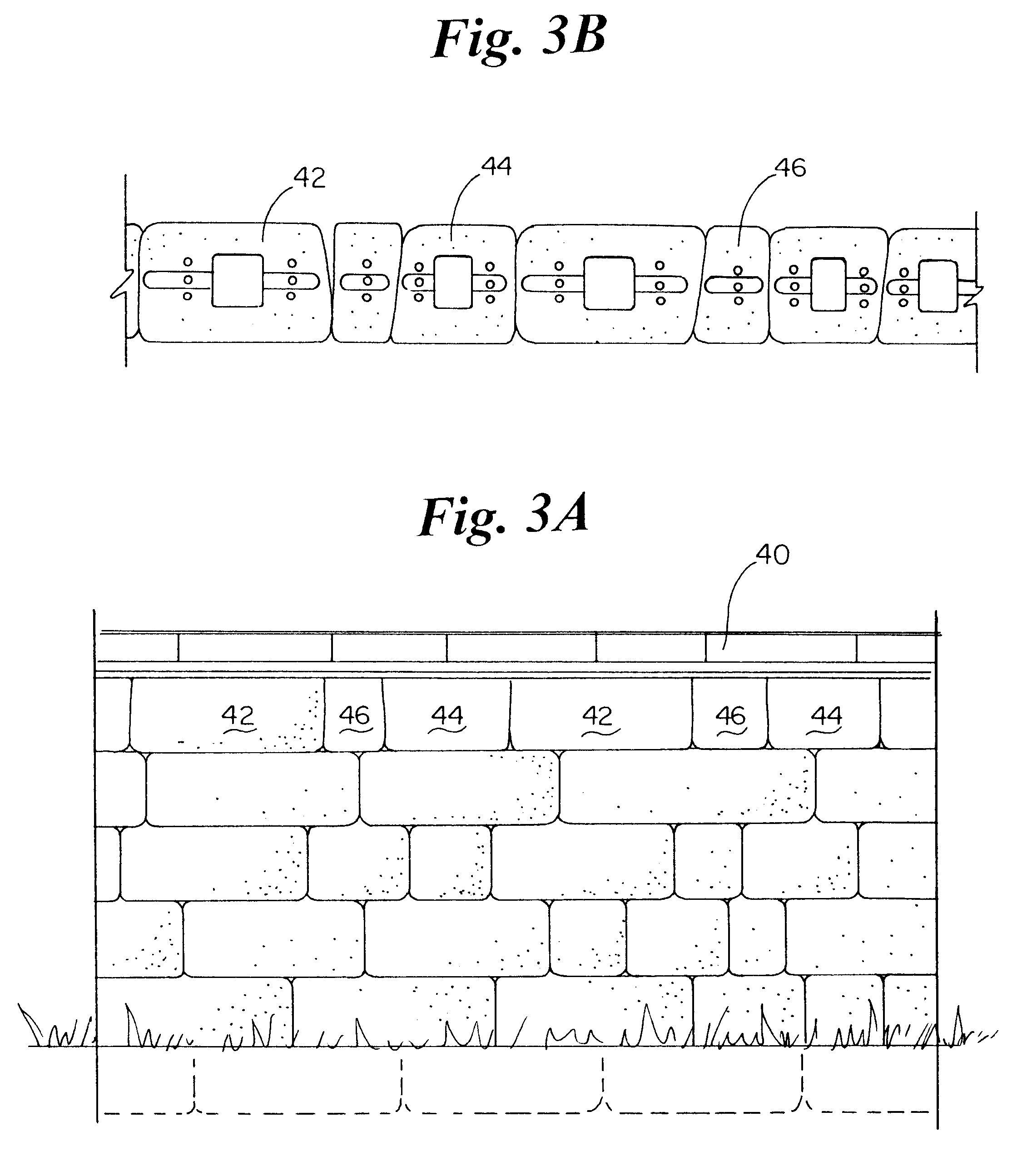 Retaining Wall Block Measurements : Patent us retaining wall block system and method