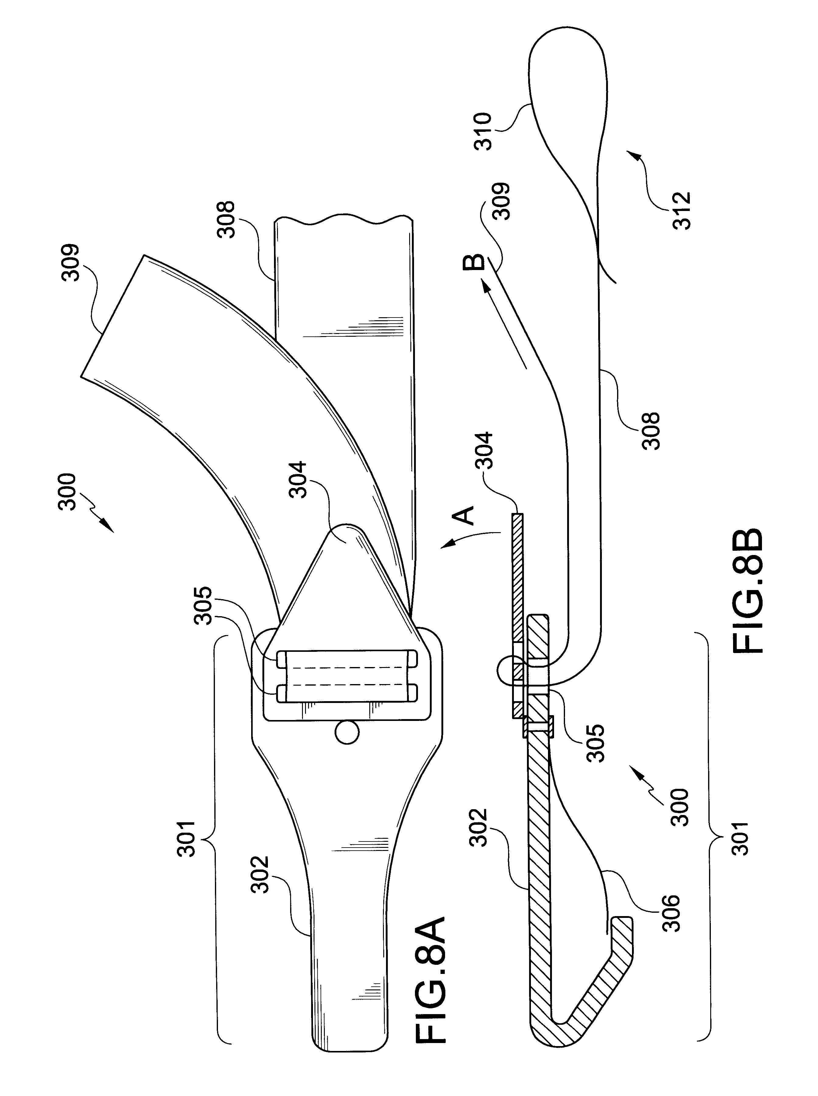 forward facing car seat diagram