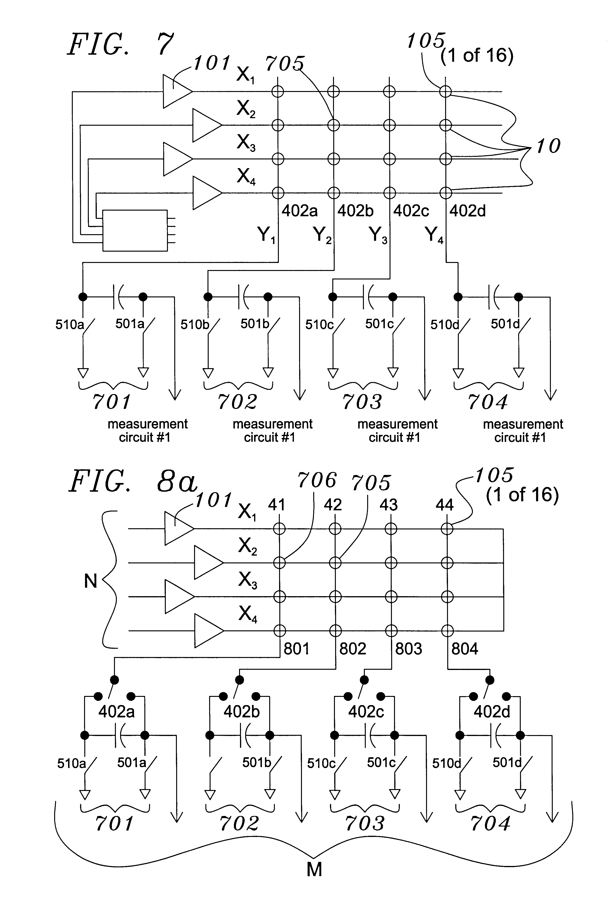 patent us6452514 - capacitive sensor and array