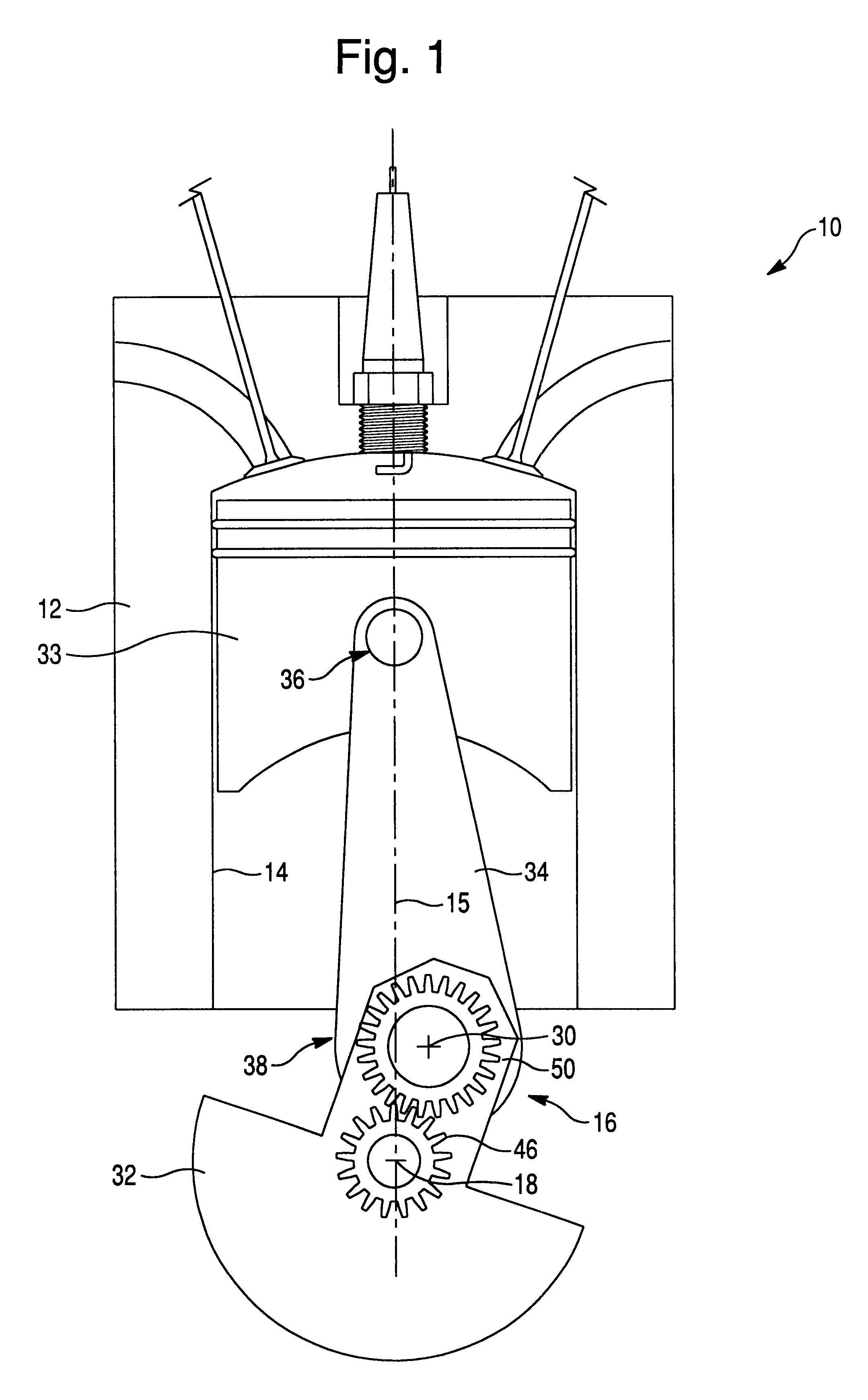 Combustion Engine Lever : Patent us internal combustion engine with