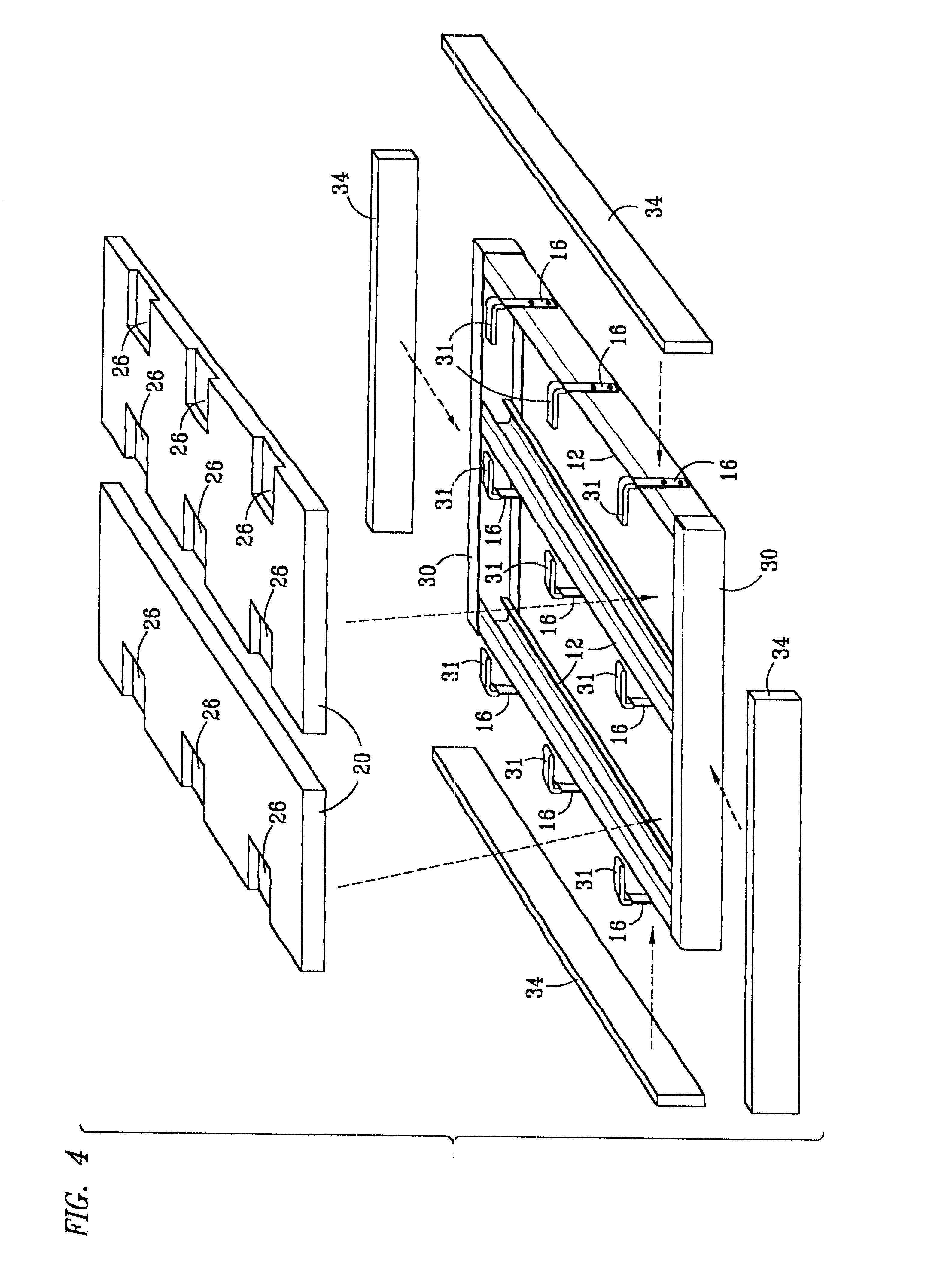 Patent US6460301 Insulated glass fiber reinforced