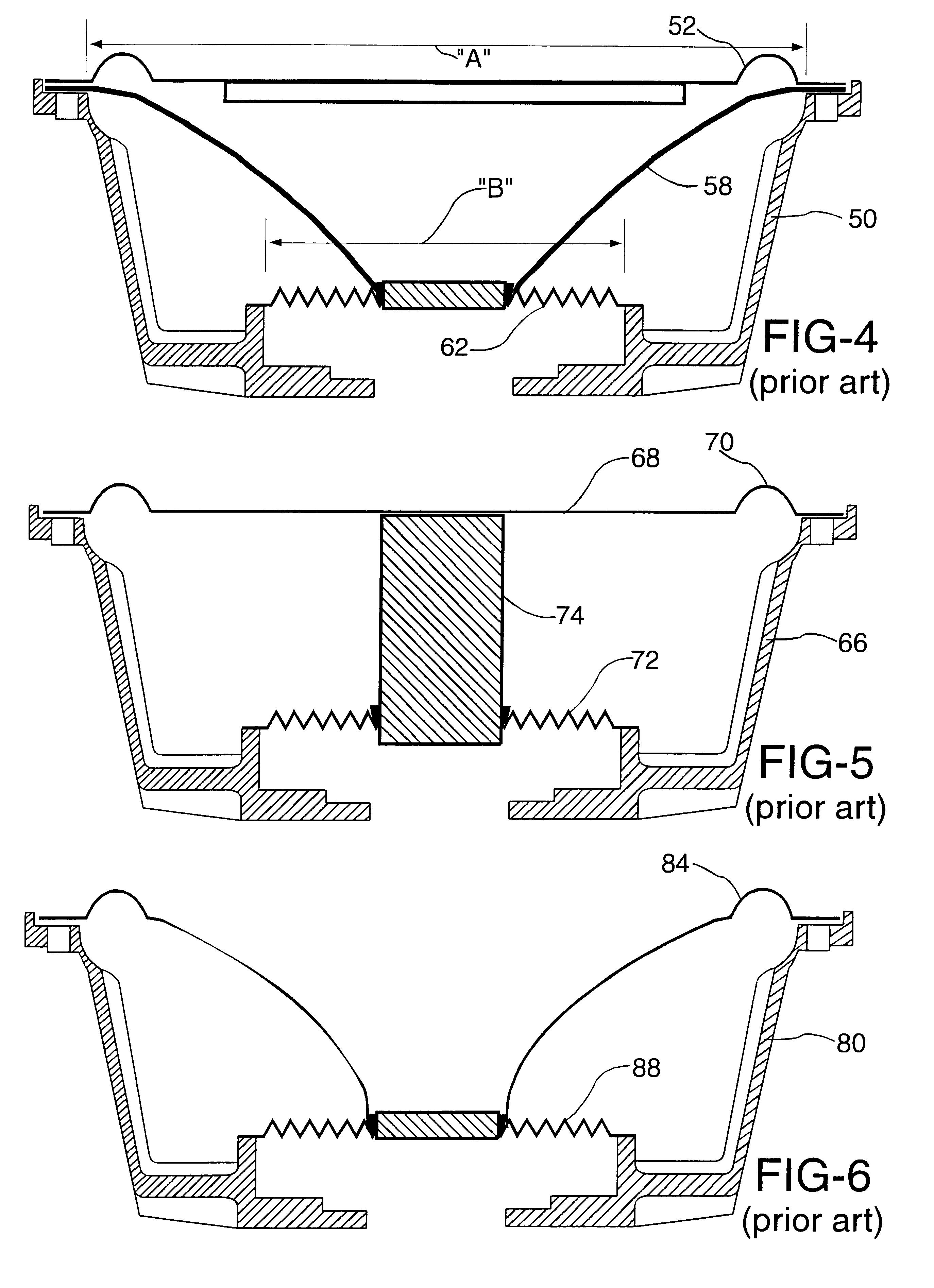 patent us6460651 - passive speaker system