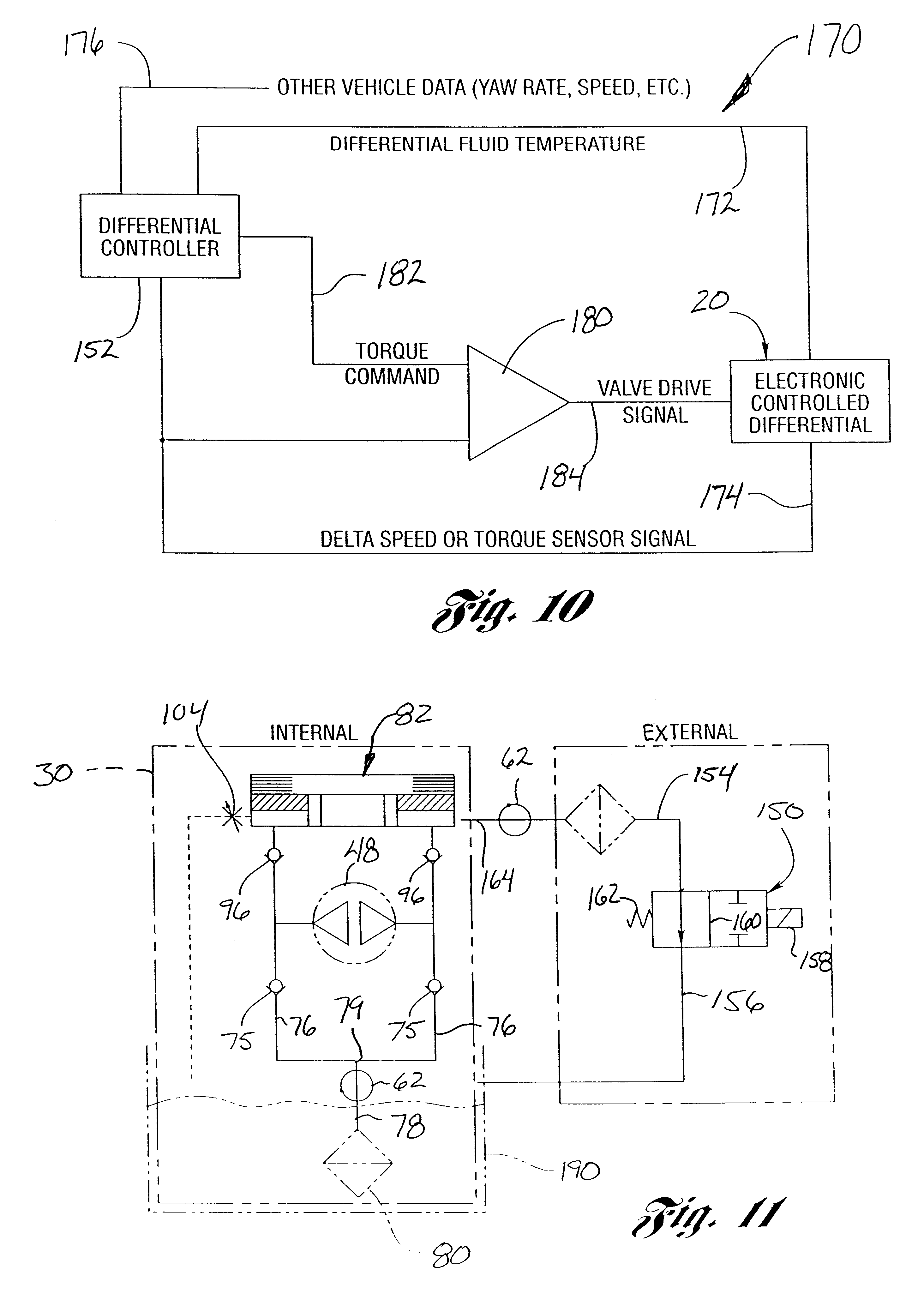 patent us6464056 electronically controlled hydraulic coupling  patent drawing