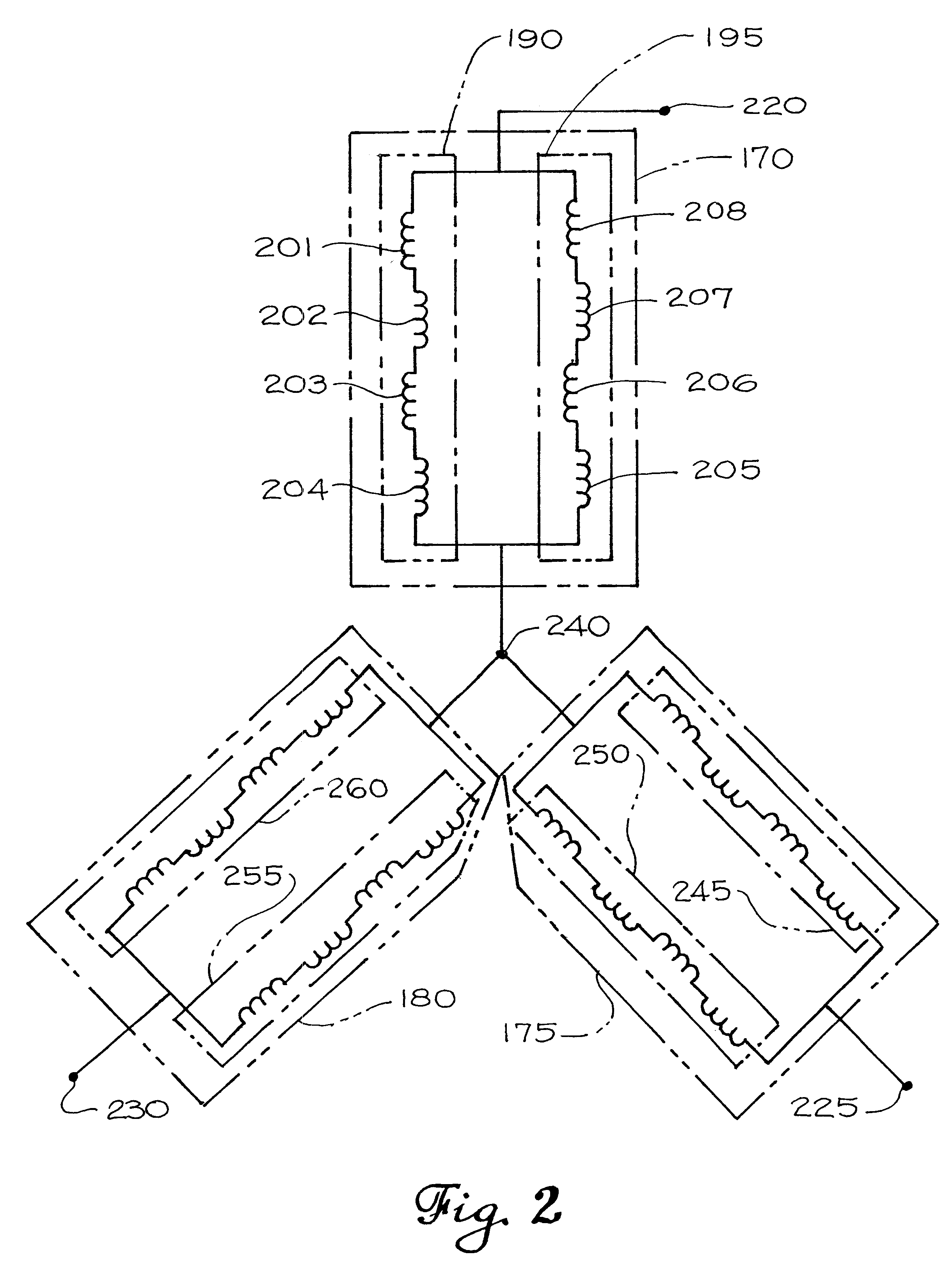 patent us6472790 - stator for an electric motor  generator with a half-integer winding