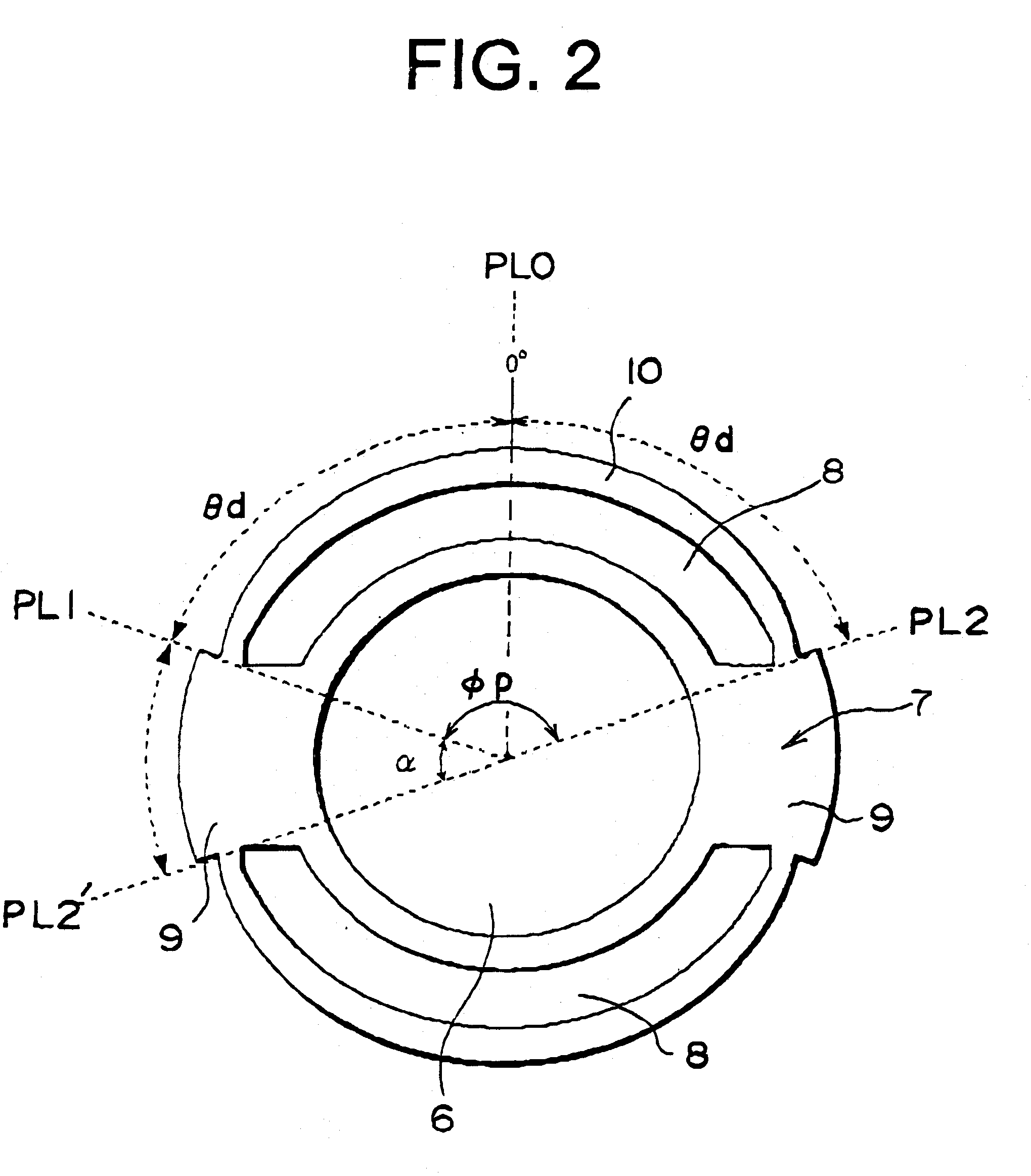 Patent Us6486581 Interior Permanent Magnet Synchronous Motor Google Patents