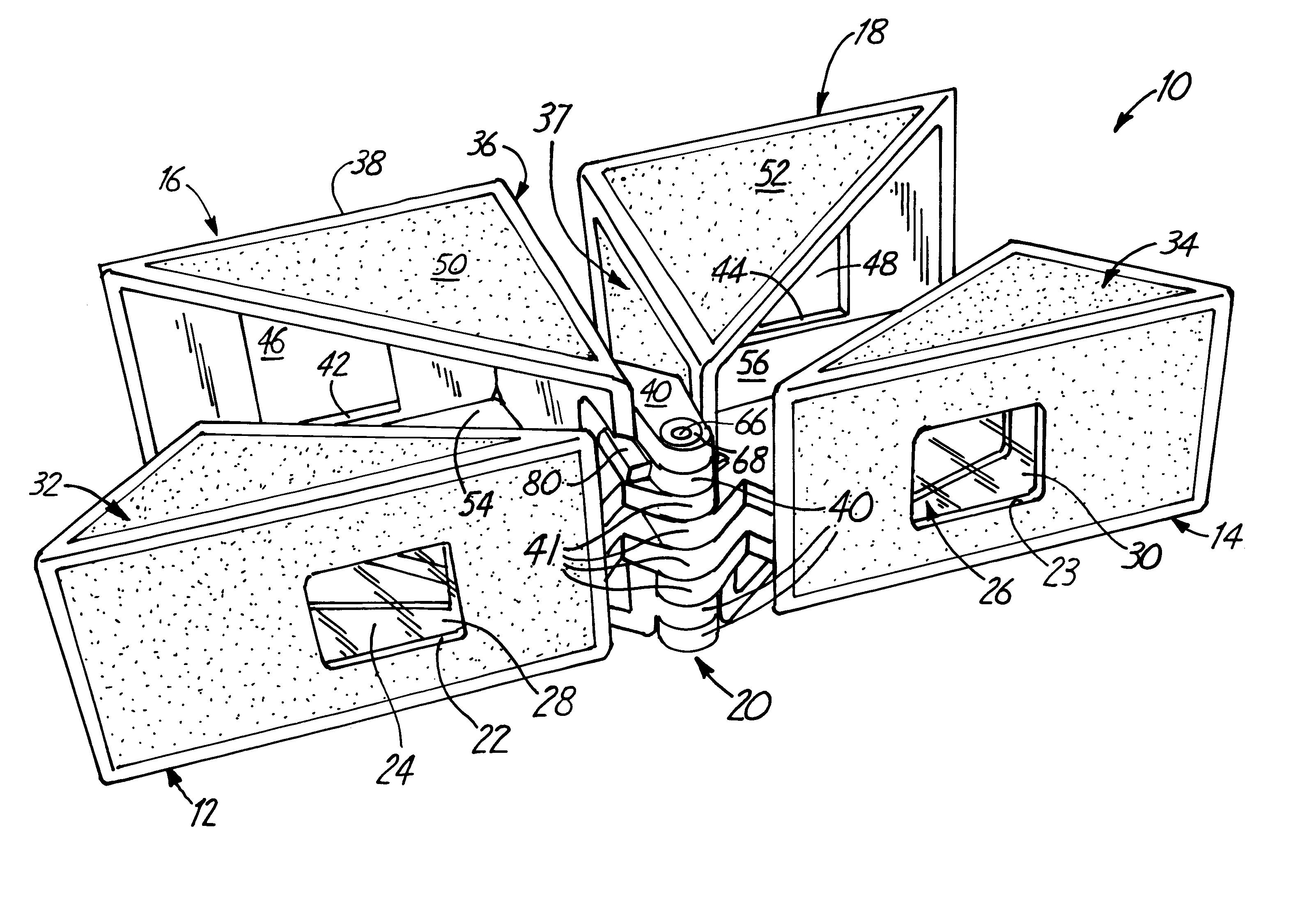 Patent Us6487013 Folding Prism Stereoscope Google Patents 2010 Impala Fuse Box Drawing