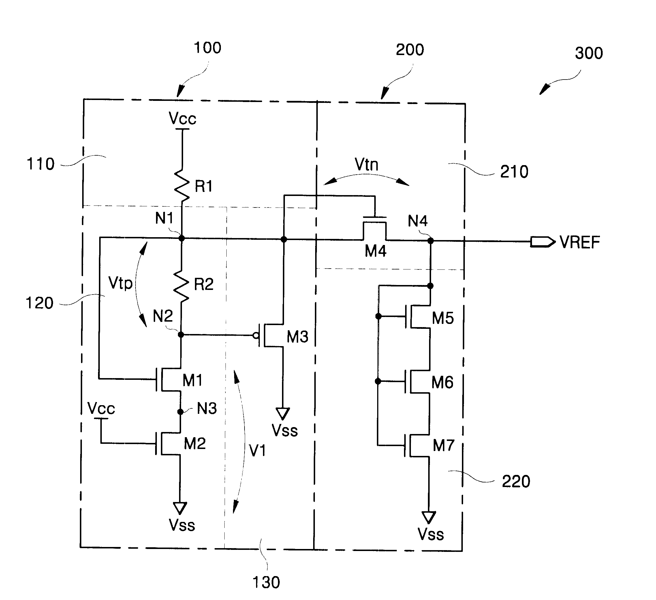 Patent Us6489836 Level Shifting Reference Voltage Source Circuits Circuit Diagram Drawing