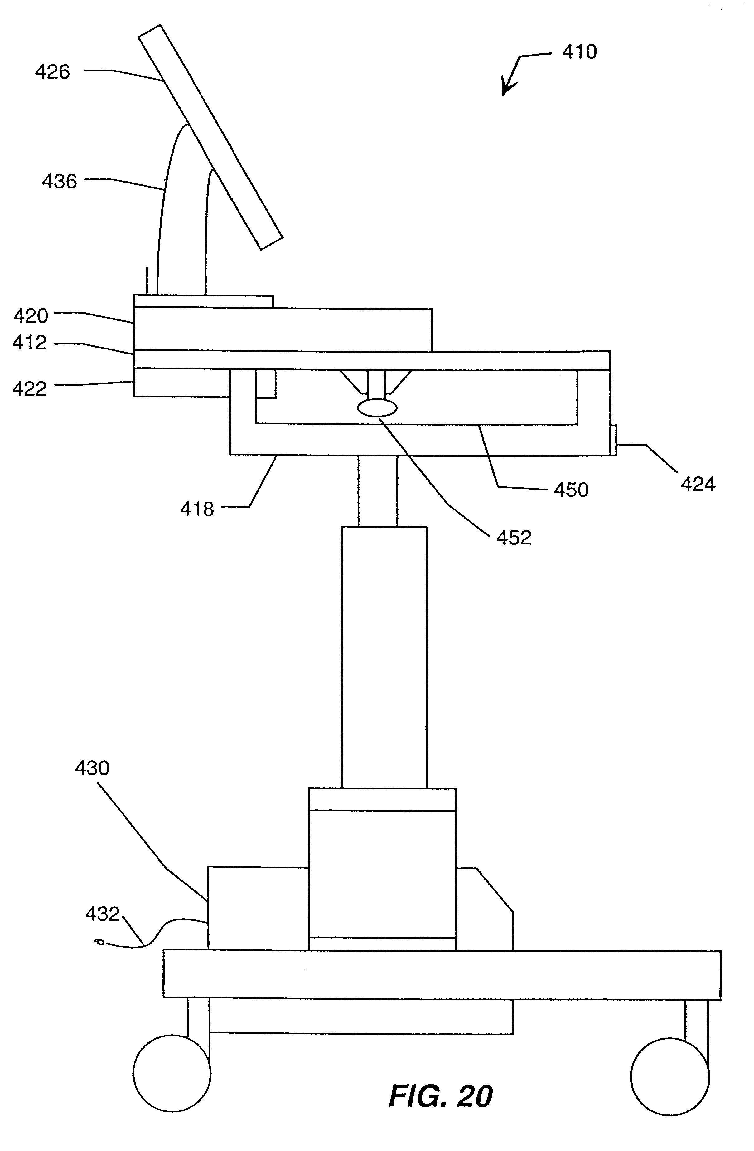 Patent Us6493220 Mobile Clinical Workstation Google Patents Ezgo Wiring Diagram 1995 Mack Truck Wiring Diagram On Clark Gcx 25e Wiring Diagram #94
