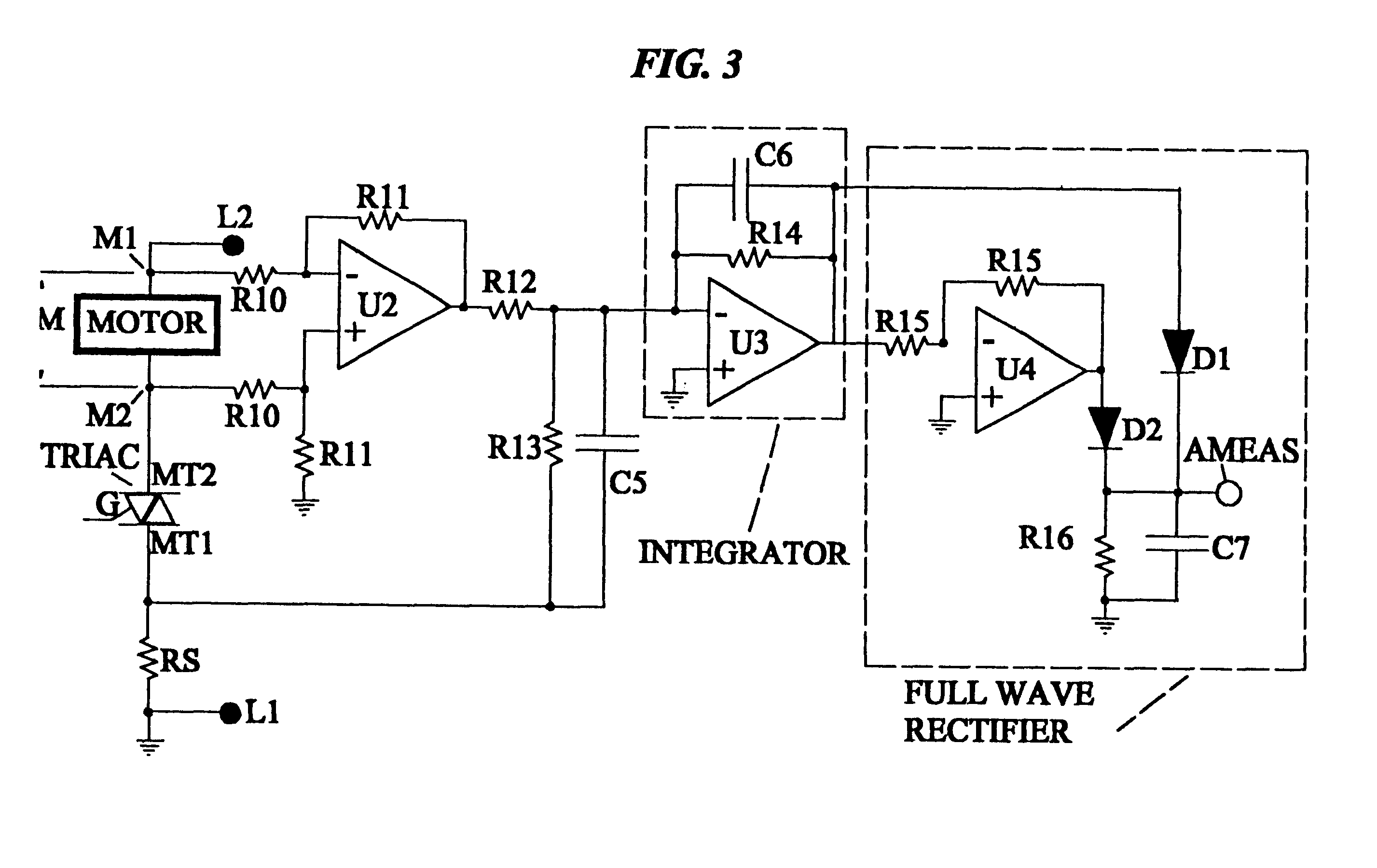 patent us6495996 - linear motor control with triac and phase locked loop