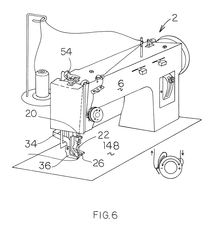 Patent Us6499415 - Zigzag Sewing Machine