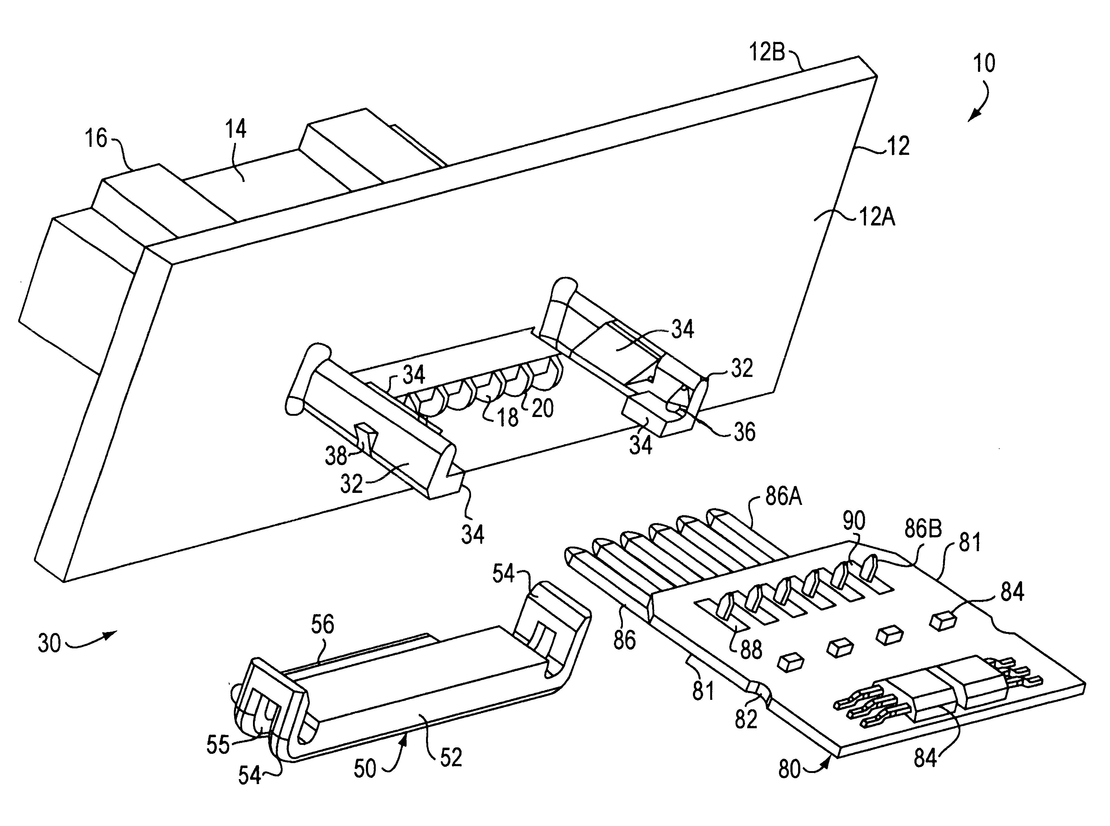 patent us6500018 - printed circuit board retainer
