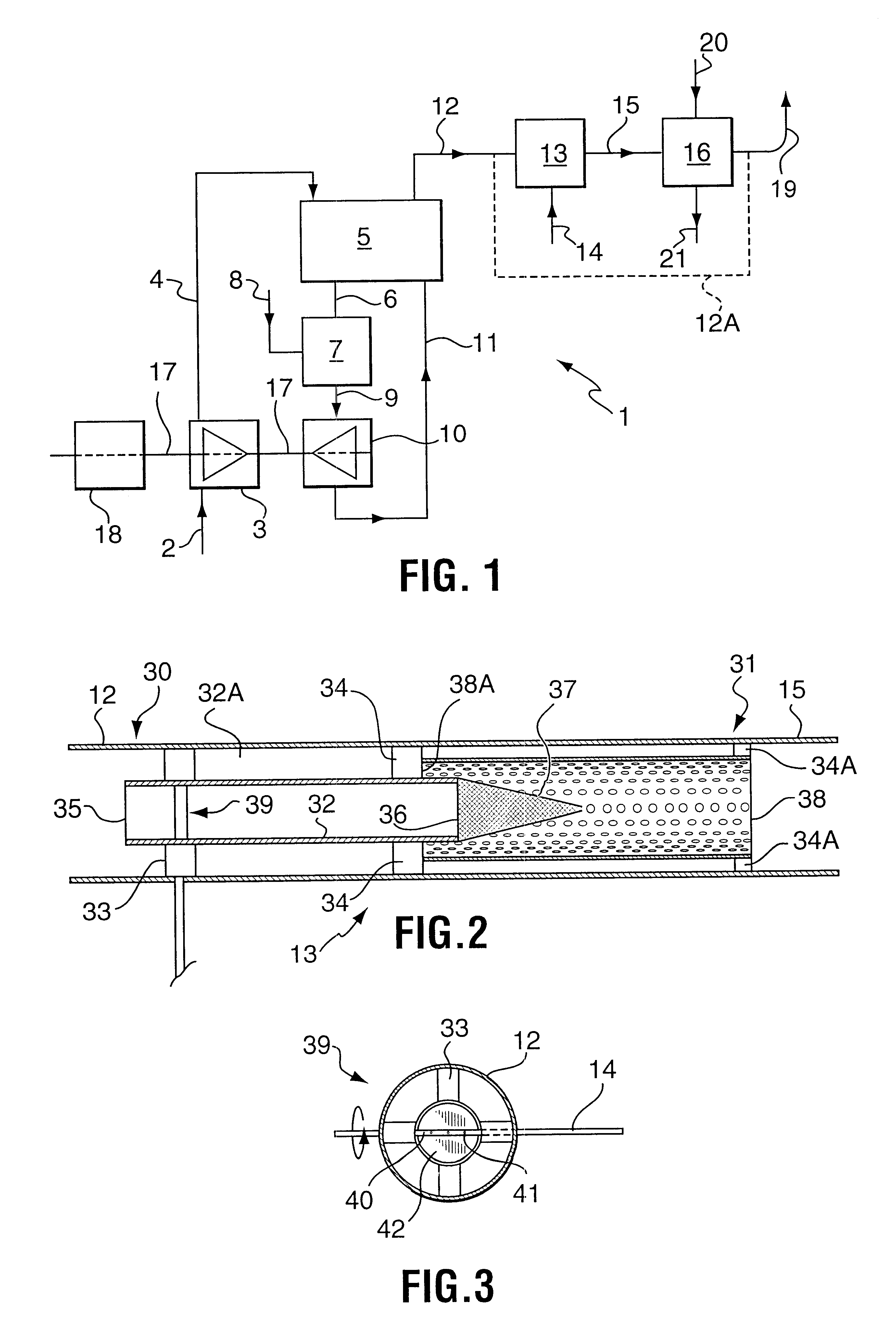 Patent US Duct burner with conical wire mesh and vanes