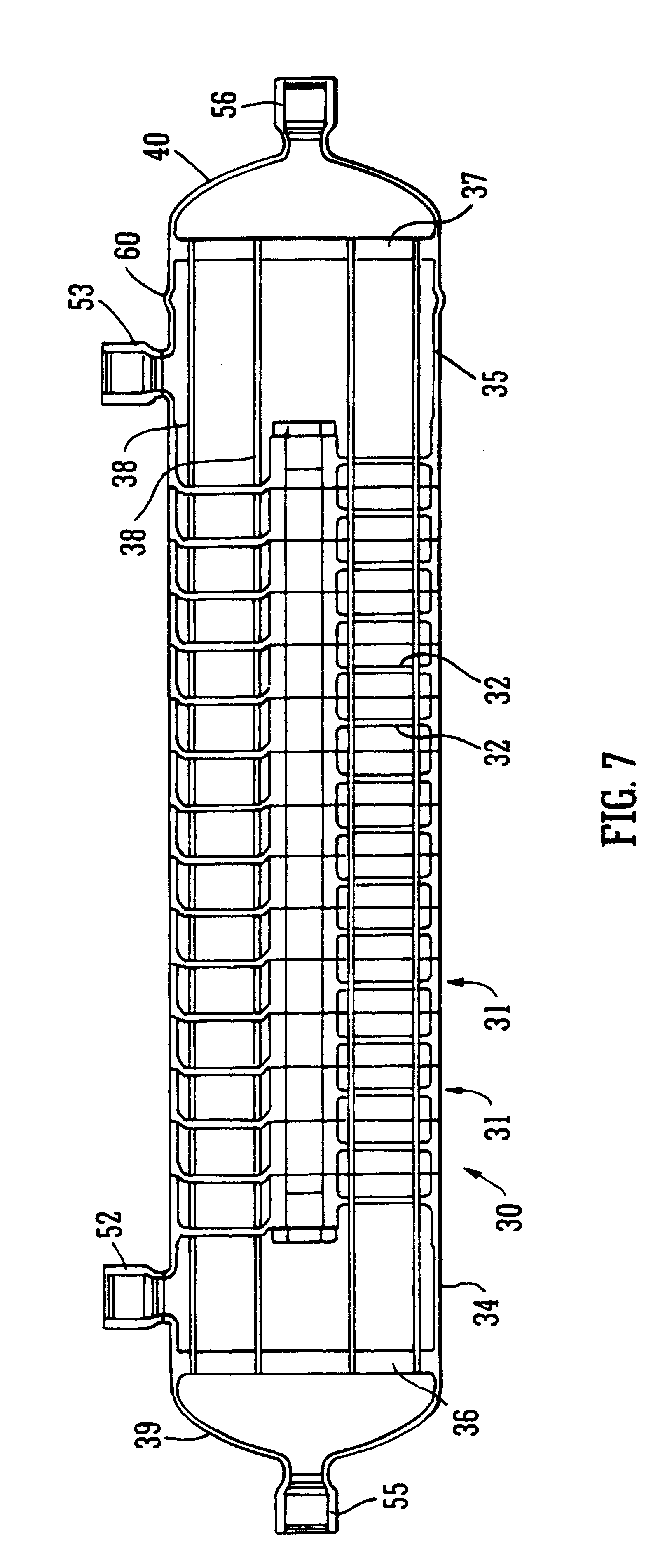 Axial Flow Heat Exchanger : Patent us heat exchanger google patents