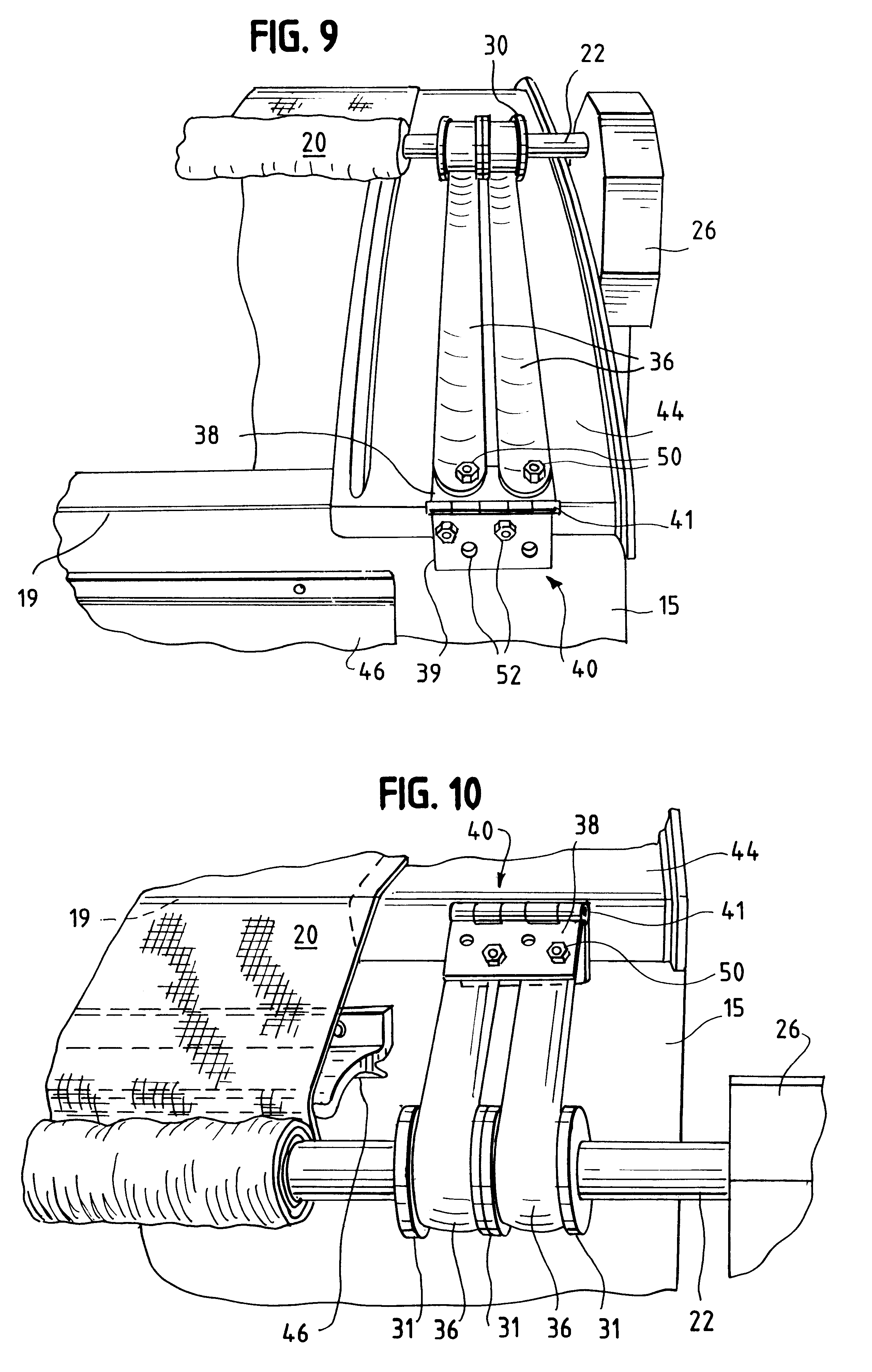 patent us6513856 roll assist mechanism for tarp systems google patent drawing