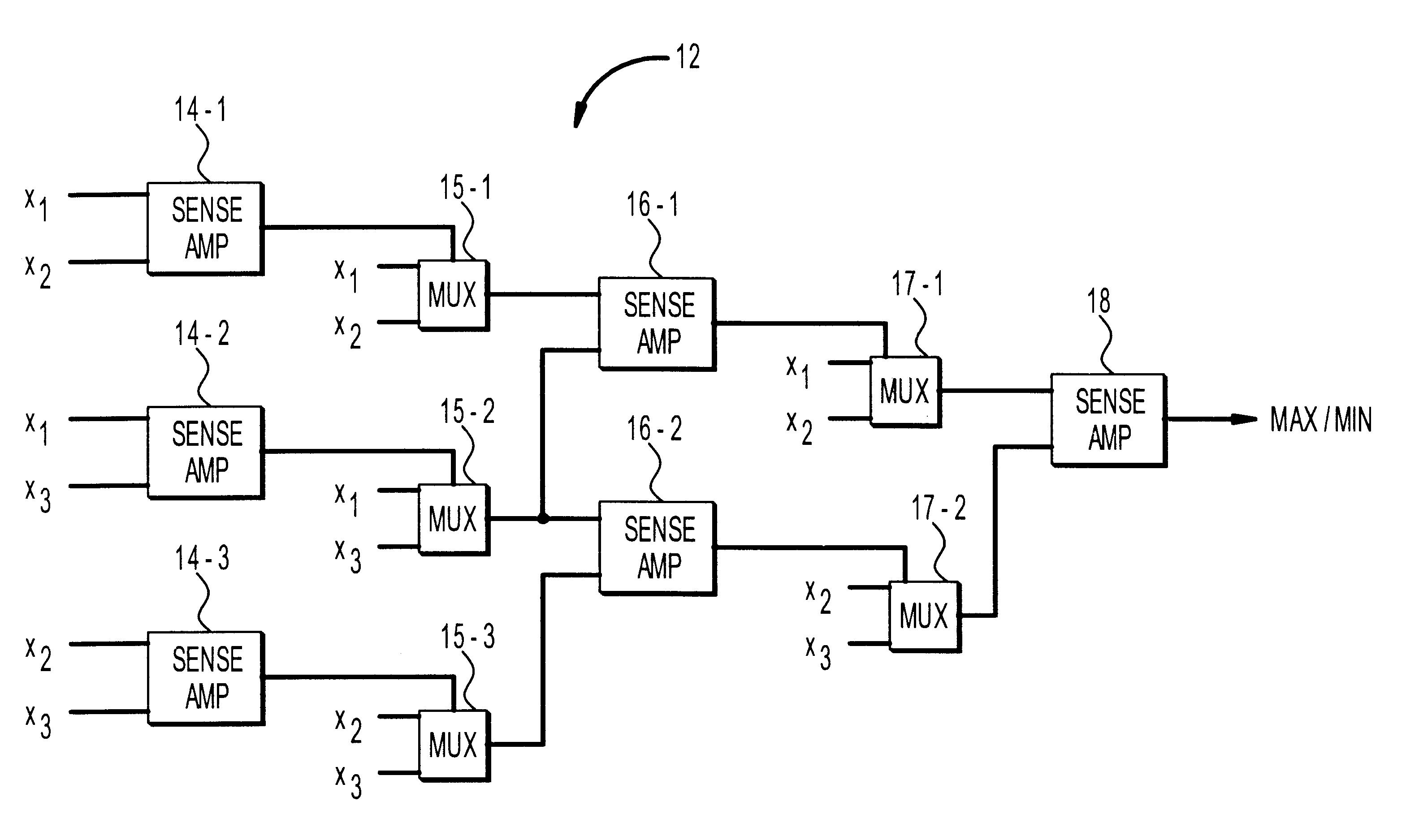 Brevet Us6515533 Multi Input Comparator Google Brevets 2 1 Mux Logic Diagram Patent Drawing