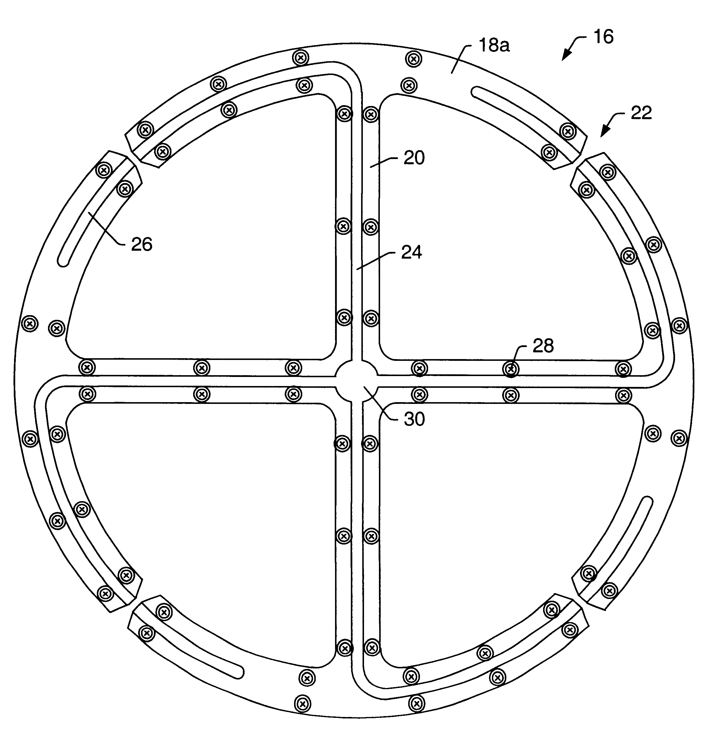 patent us6515632 - multiply-fed loop antenna