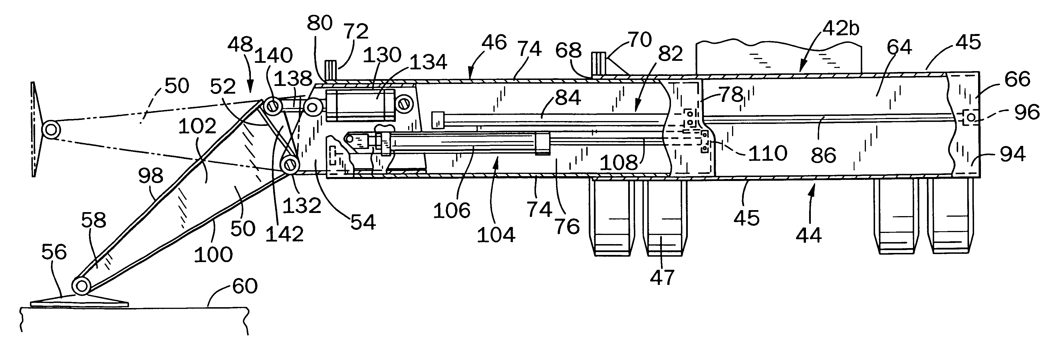 patent us6516917 outrigger assembly for a mobile telescopic belt patent drawing