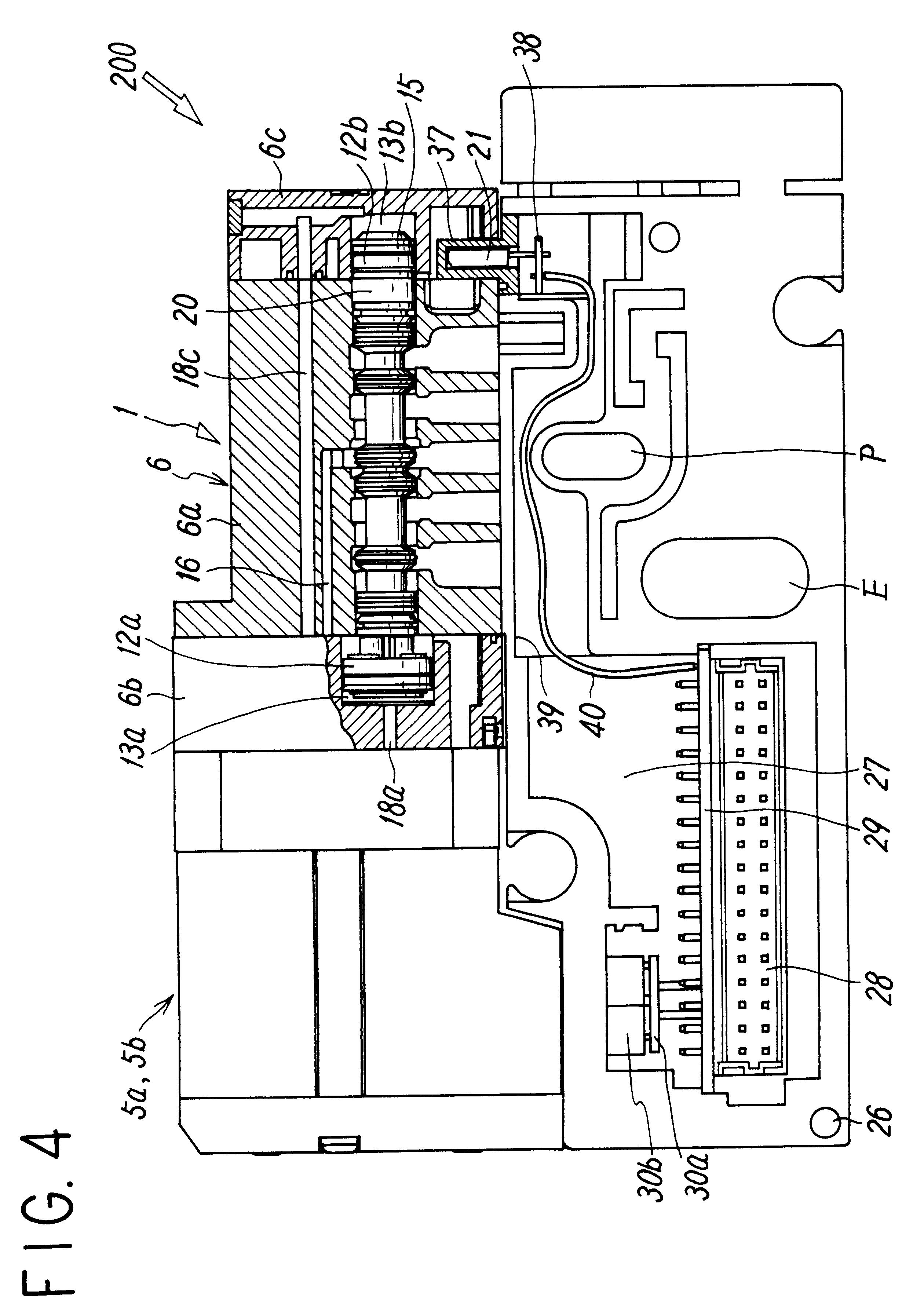 Patent Us6520202 Manifold Valve Having Position Detecting Function Smc Wiring Diagram Drawing