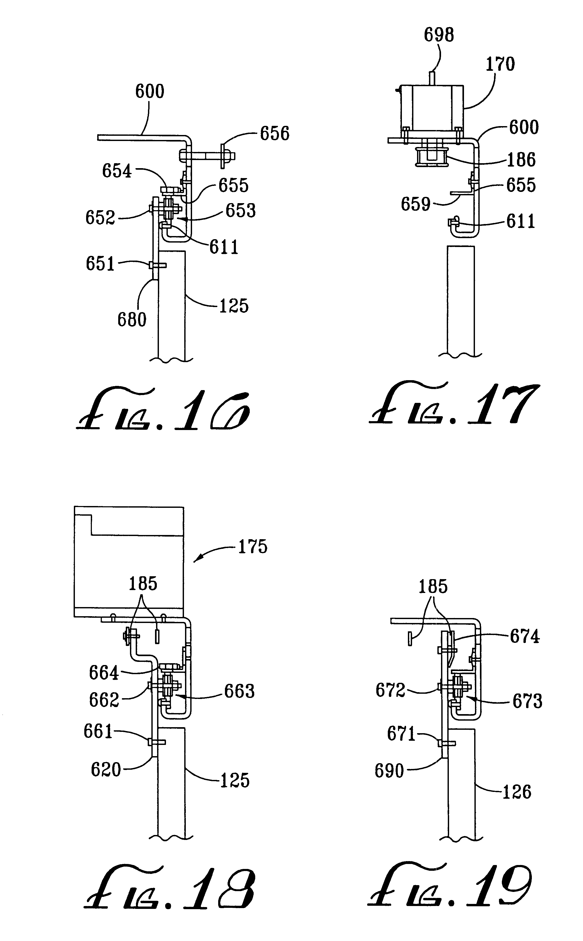 patent us6525659 - automatic sliding door system for refrigerator unit