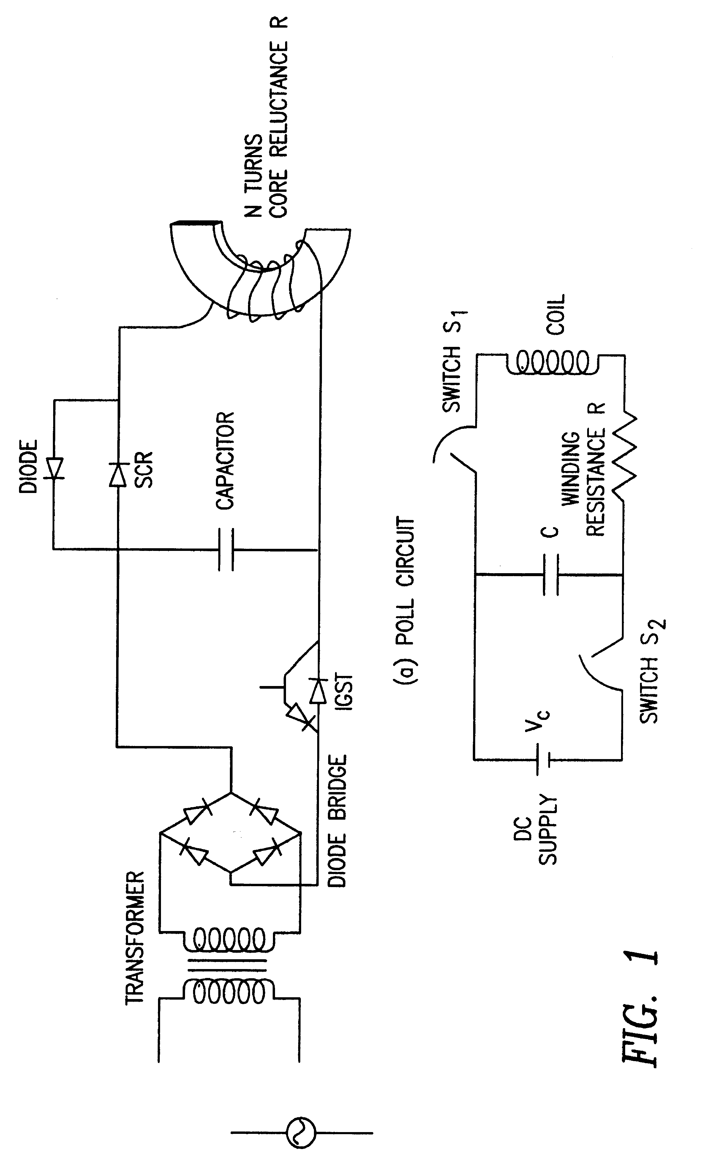 patent us6527695 - magnetic stimulation coil and circuit design