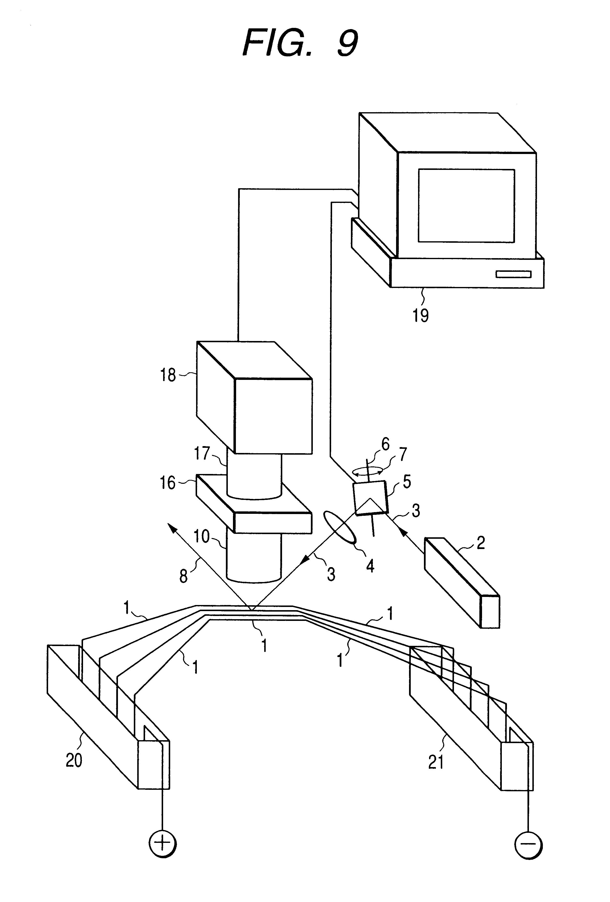 patent us6531044 - capillary array electrophoresis apparatus