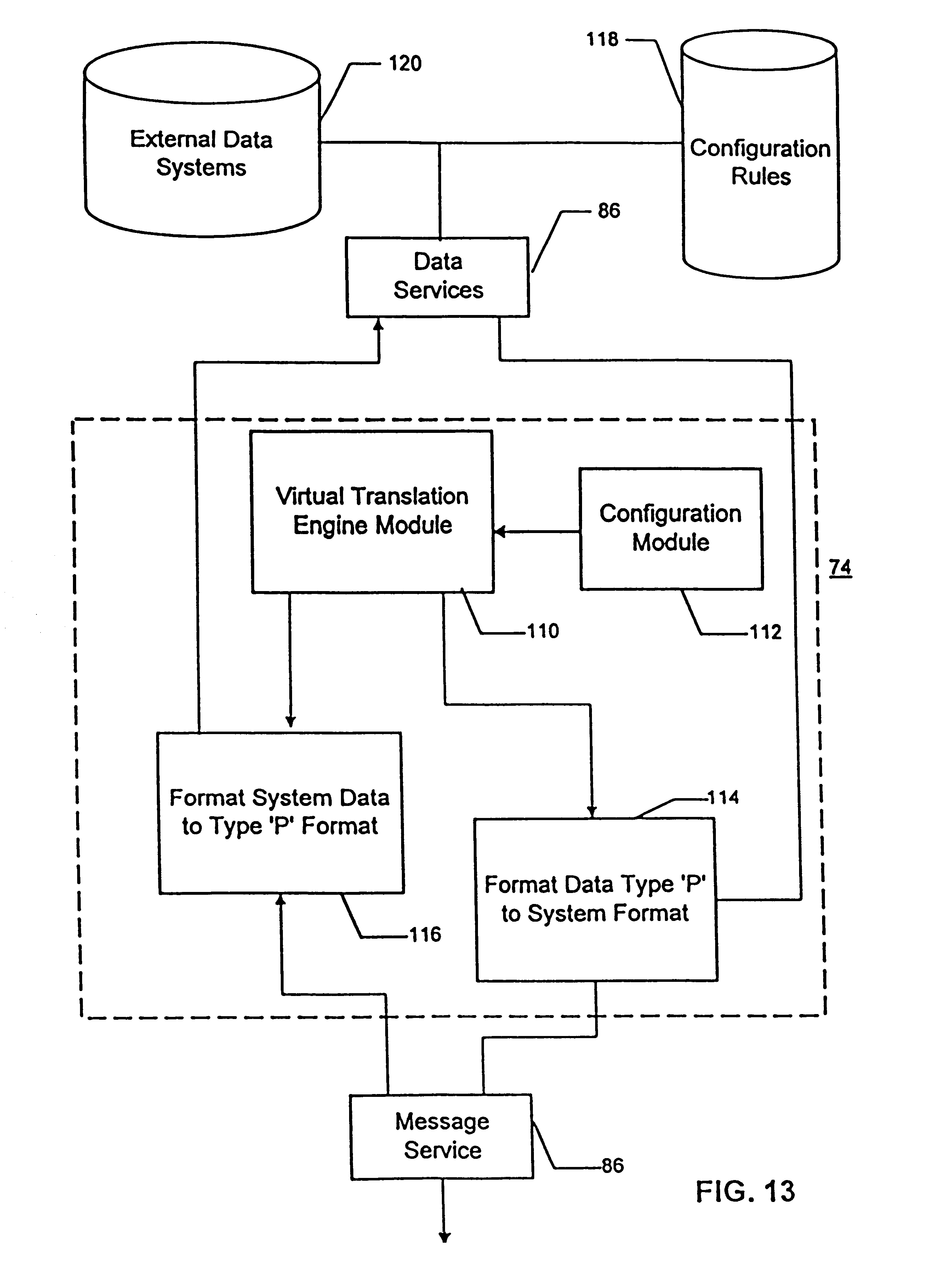 processing and data-storage functions of client application