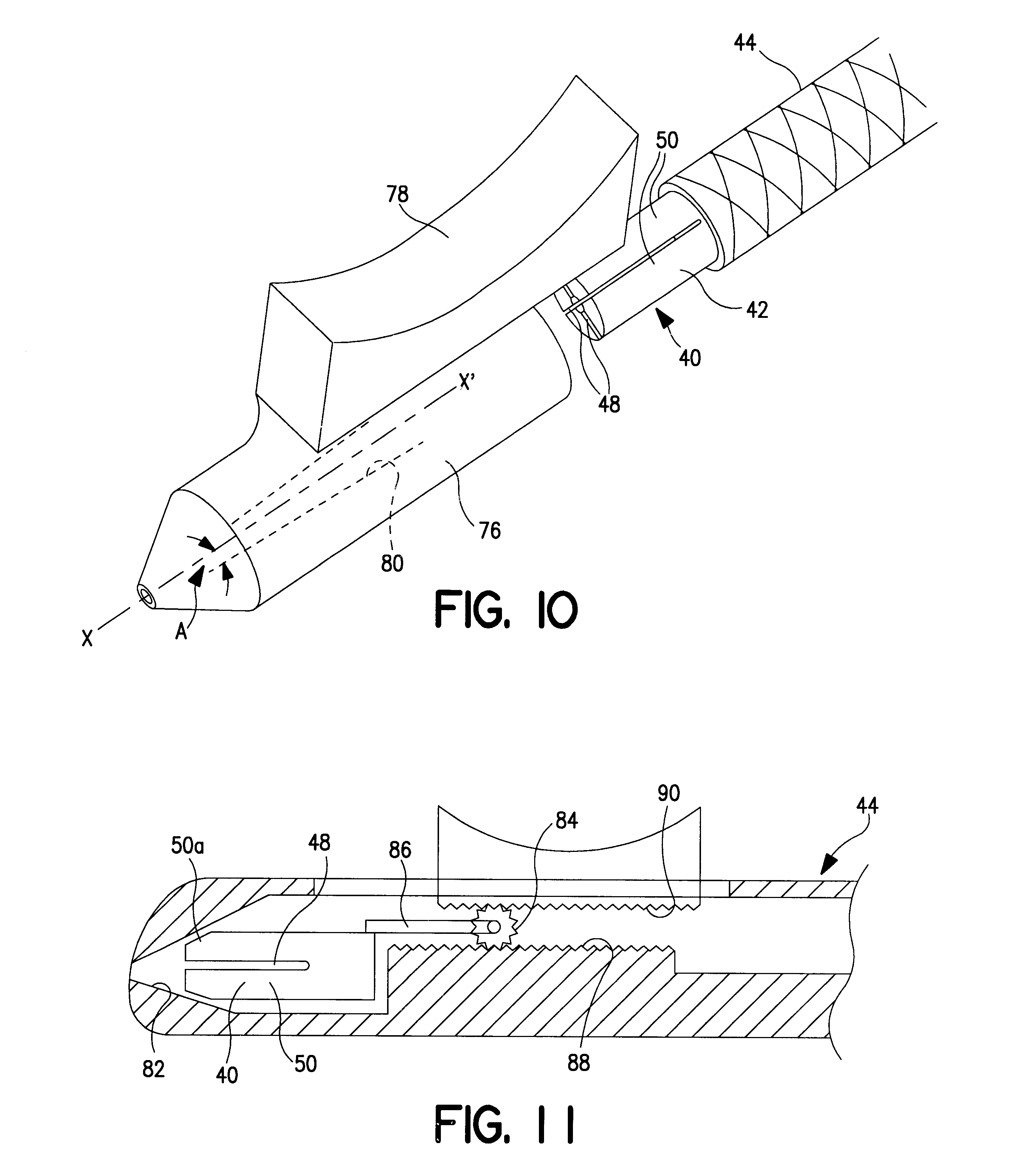 patent us6533772 - guide wire torque device