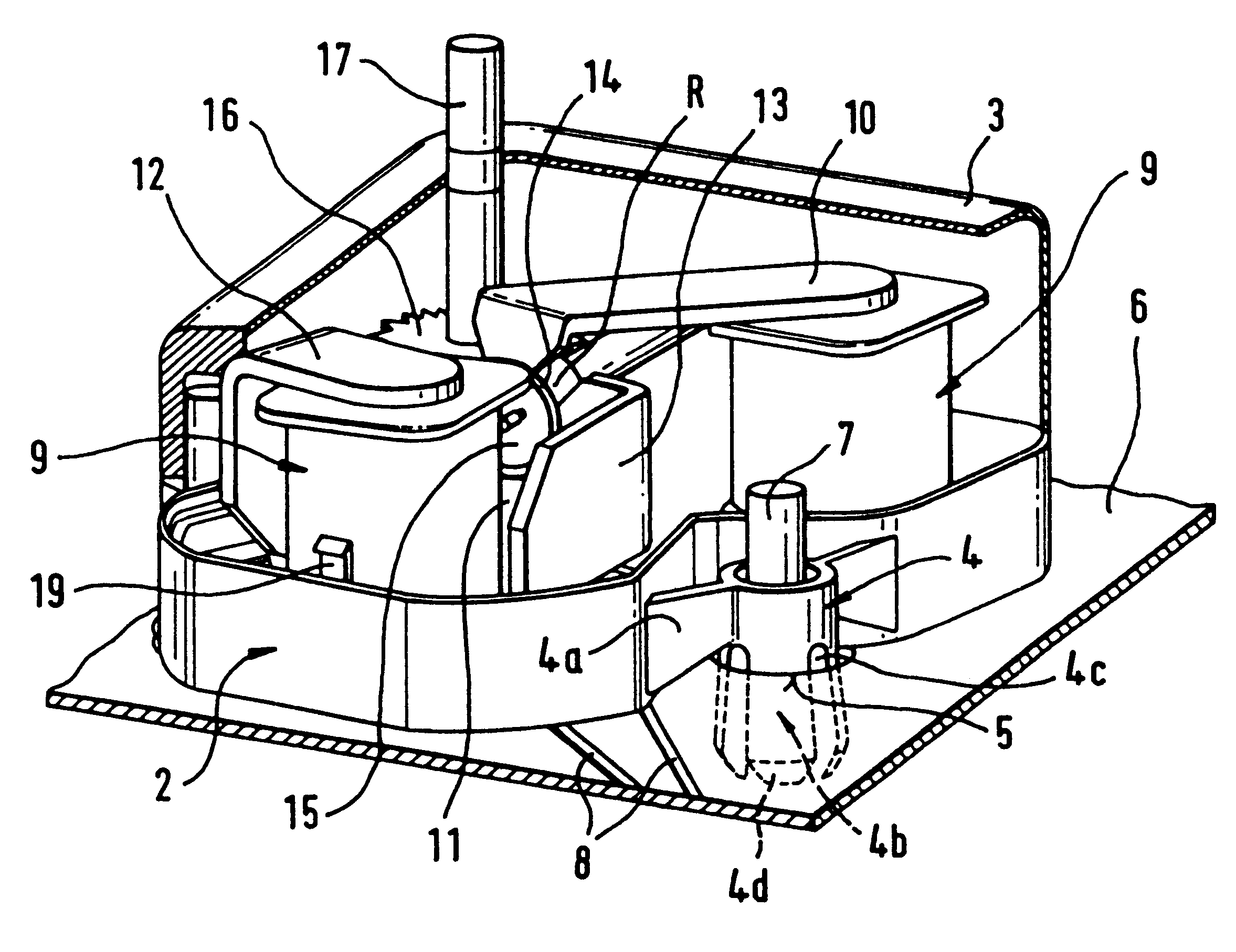 patent us6534888 - electric motor intended to be fixed to a printed circuit board