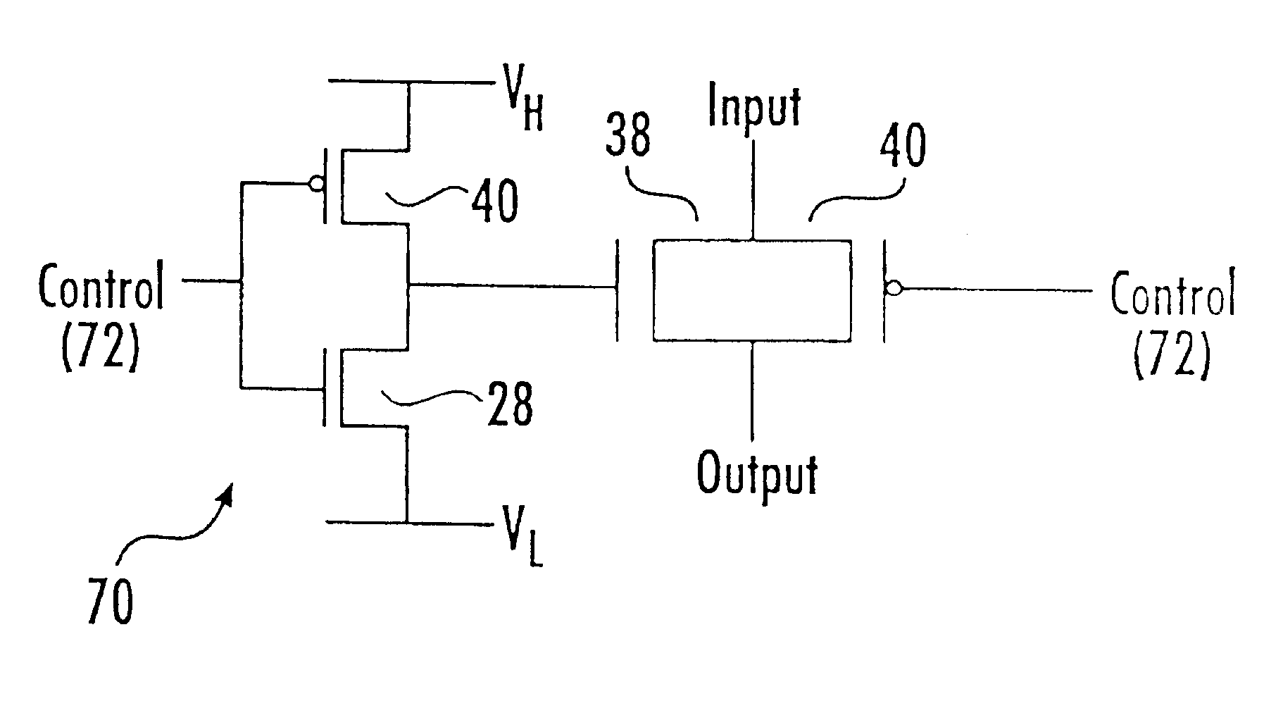 Patent Us6535034 High Performance Integrated Circuit Devices Uses Of Circuits Drawing