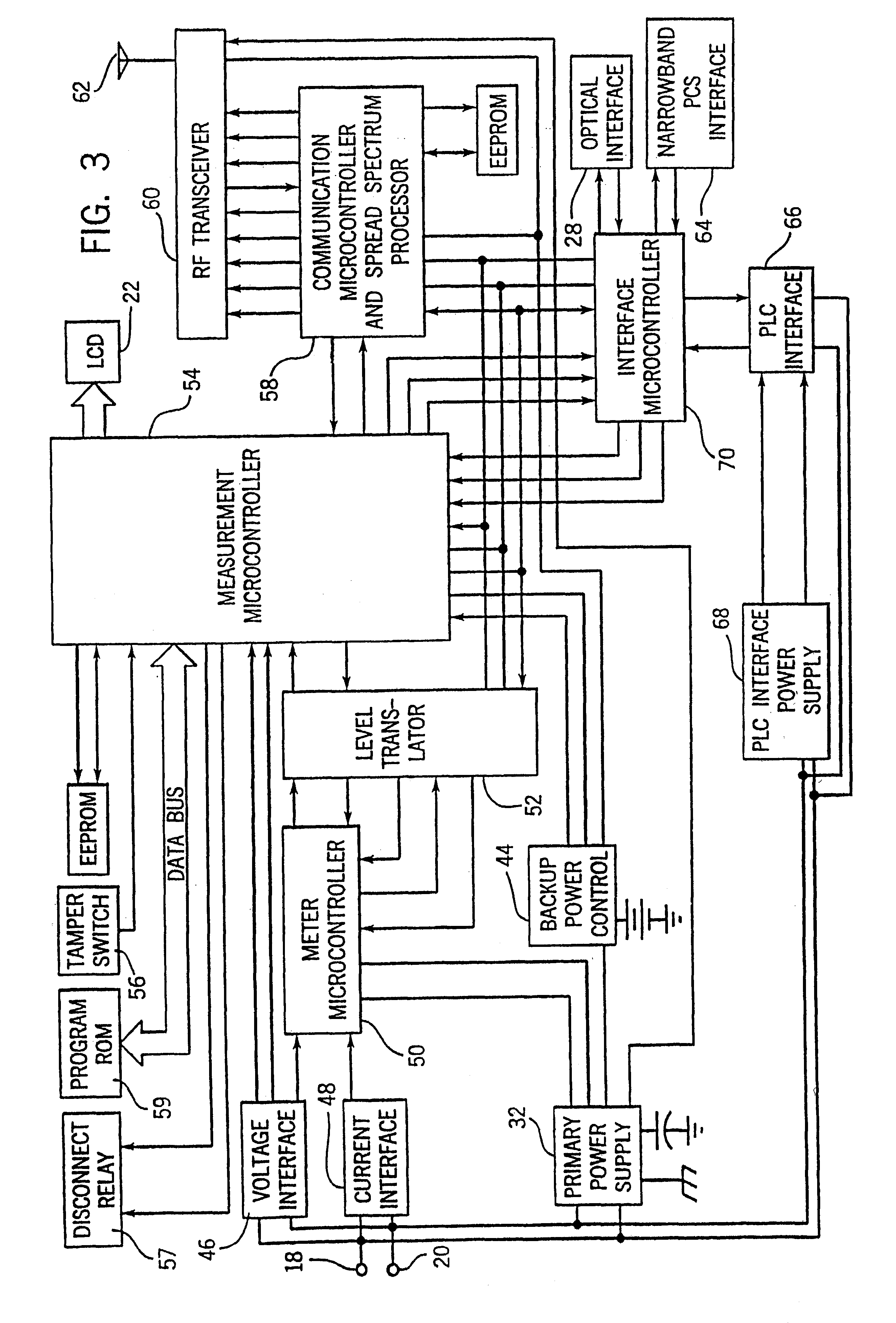 patent us6538577 electronic electric meter for networked meter patent drawing