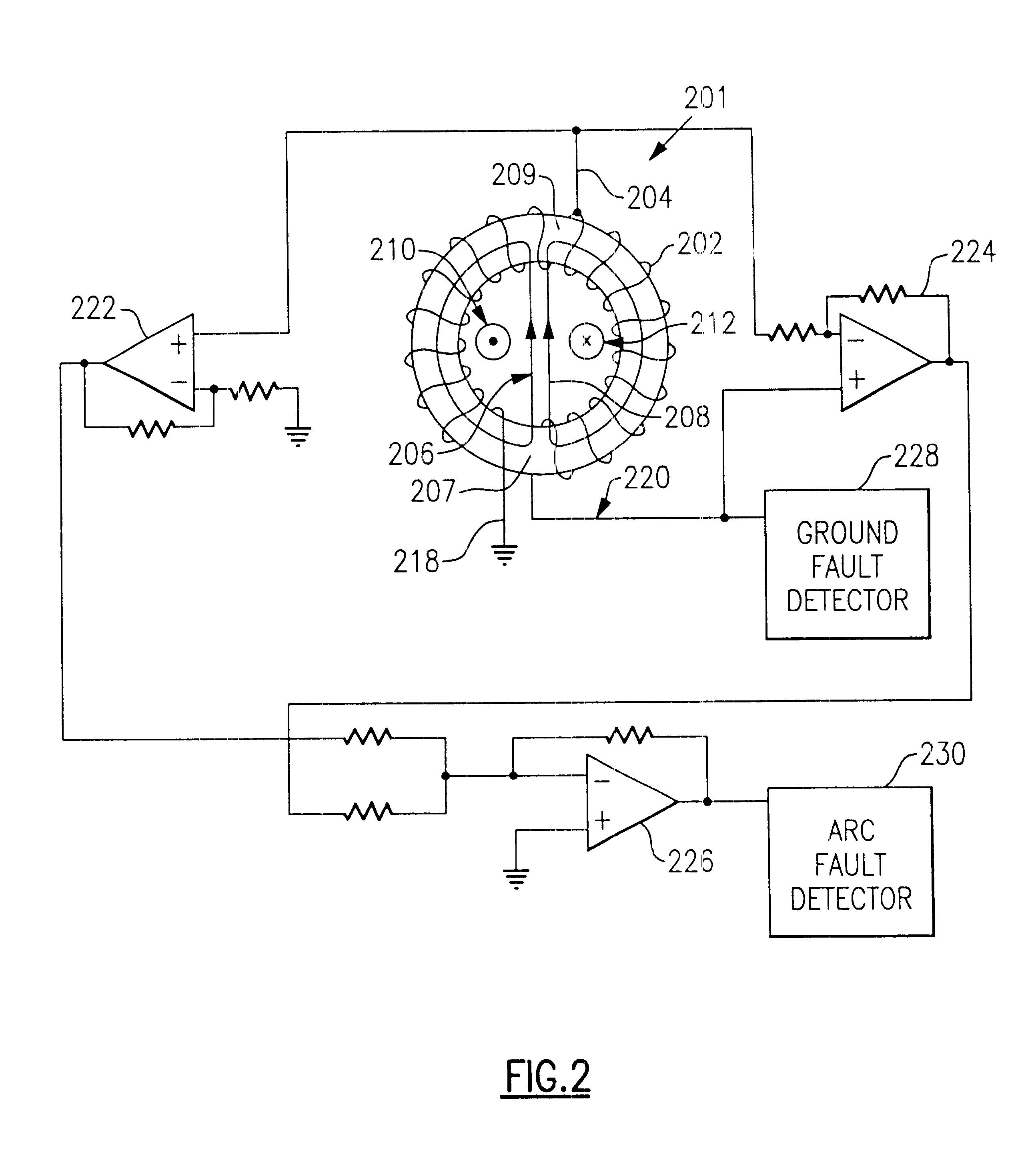 arc fault interrupt circuit topology