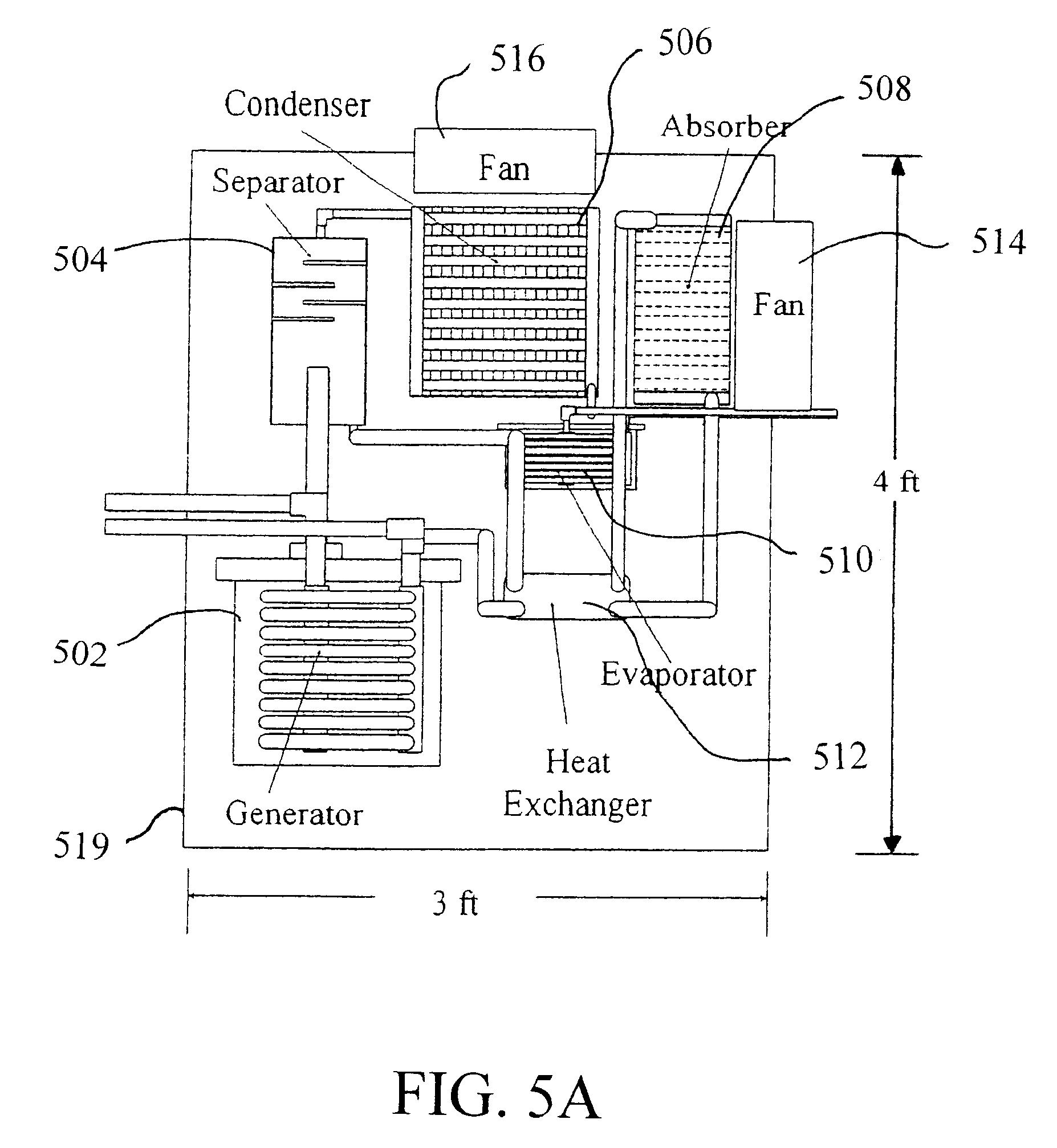US06539738 20030401 D00005 patent us6539738 compact solar powered air conditioning systems powered aire wiring diagram at fashall.co