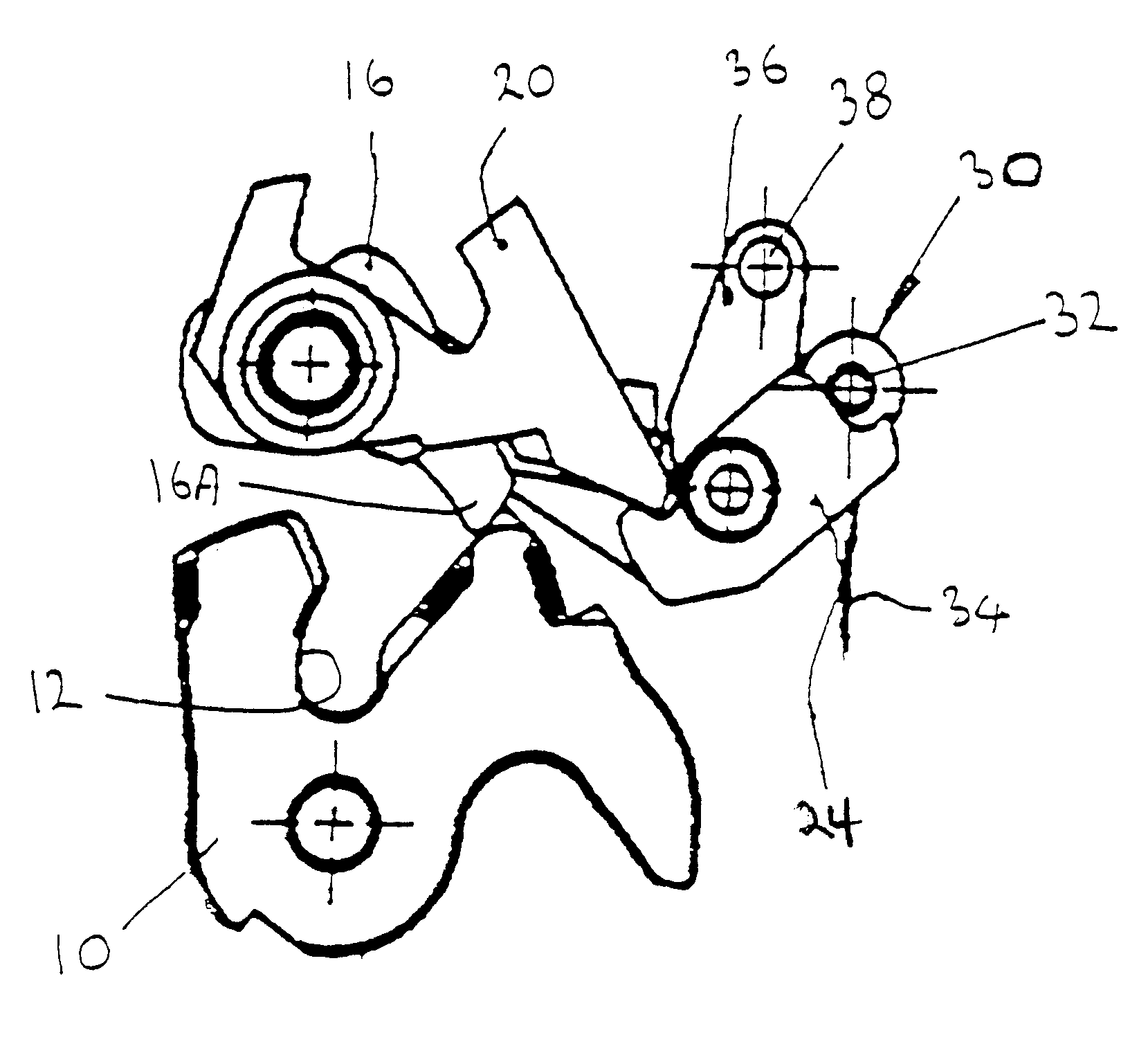 patent us6540271 - vehicle door latch