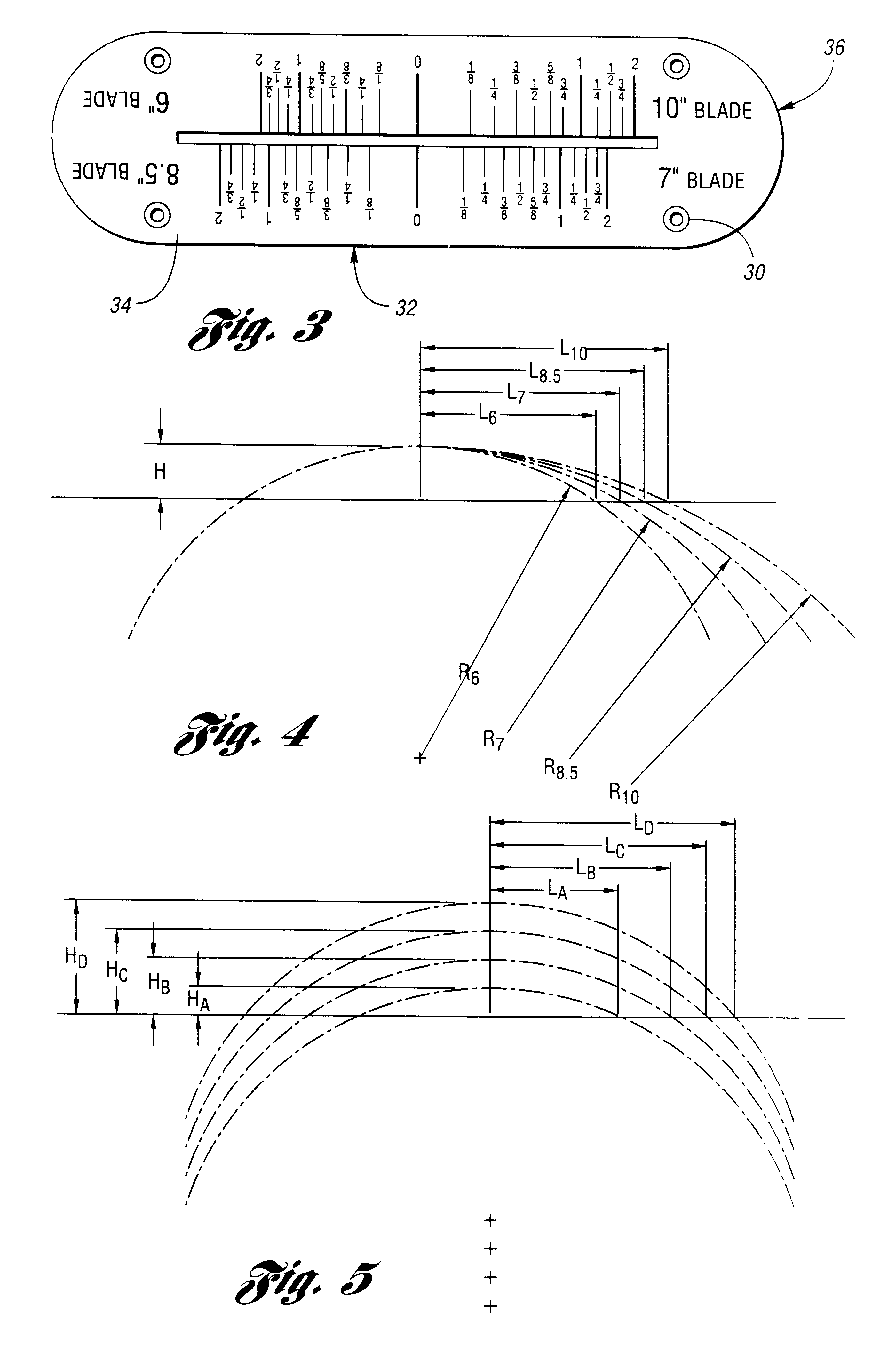 Patent Us6543324 Table Saw Throat Plate With Blade Height Scale Google Patents