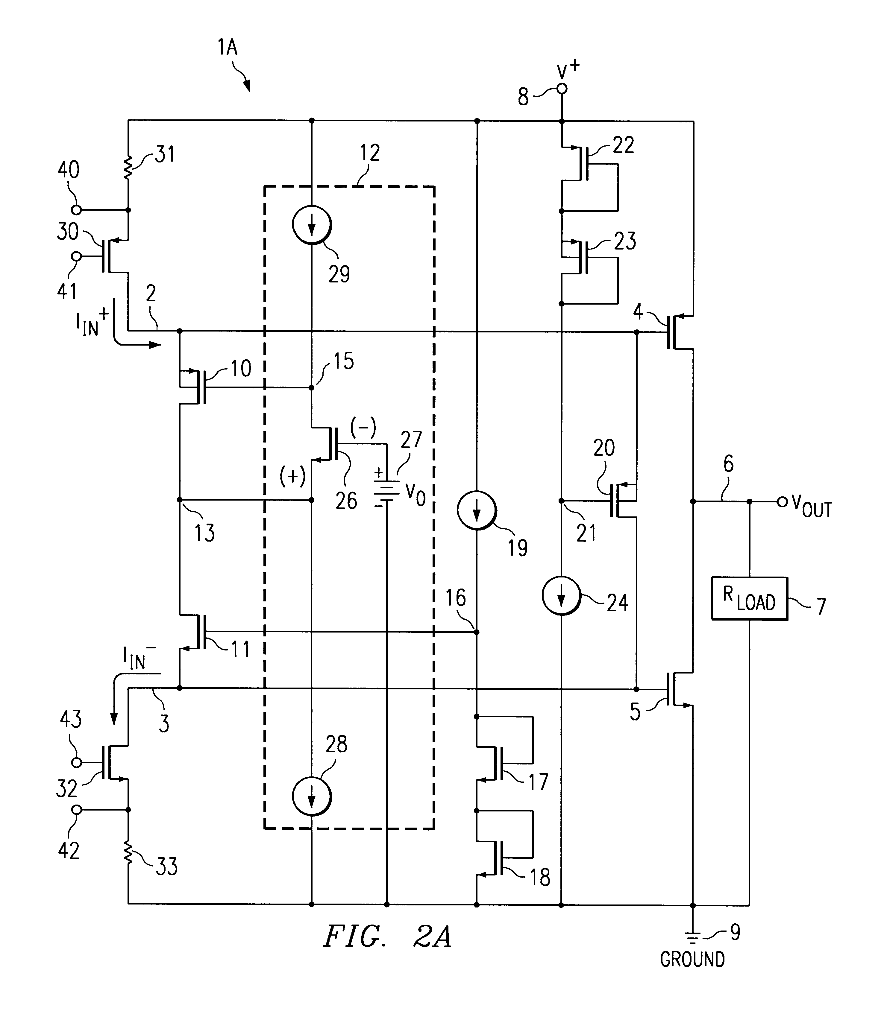 patent us6545538 rail to rail class ab output stage for high precision rail-to-rail output operational amplifier rail-to-rail input/output operational transconductance amplifier (ota) with high cmrr and psrr