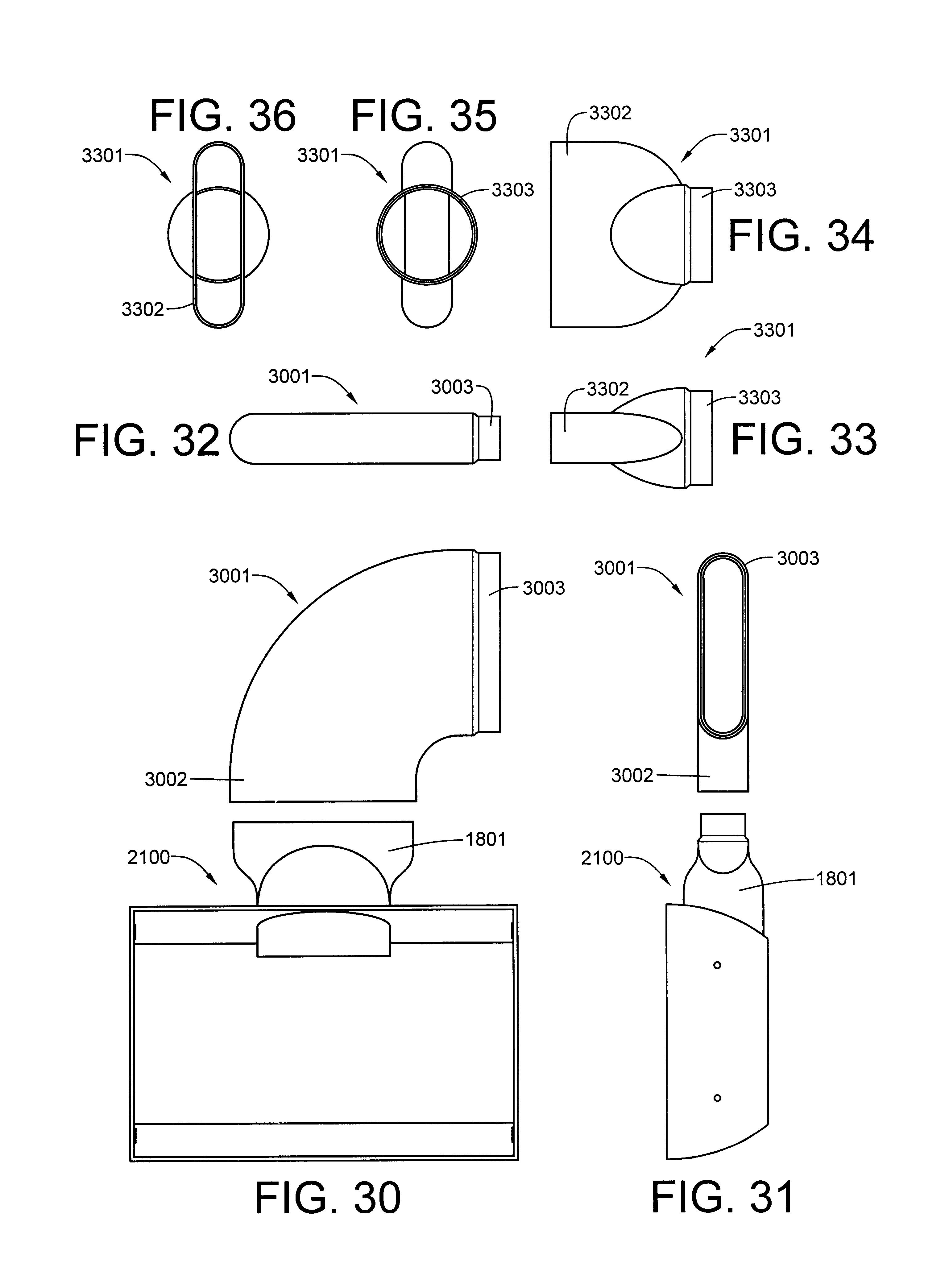 Vent System Patent Us6550157 Recessed Dryer Vent System Google Patents