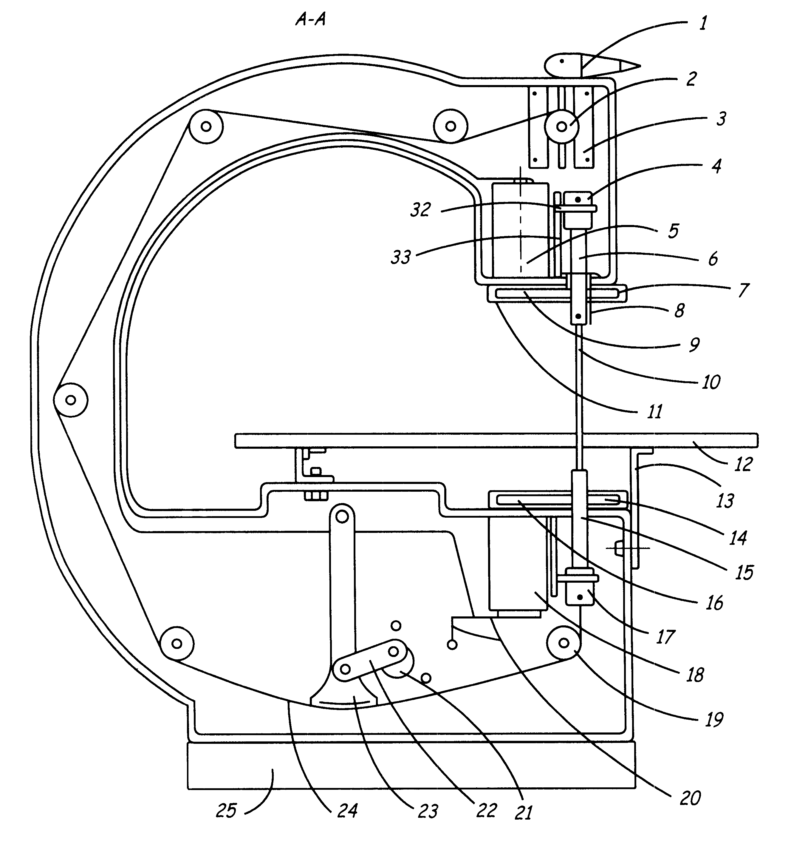 Patent US6550365 - Coping saw - Google Patents