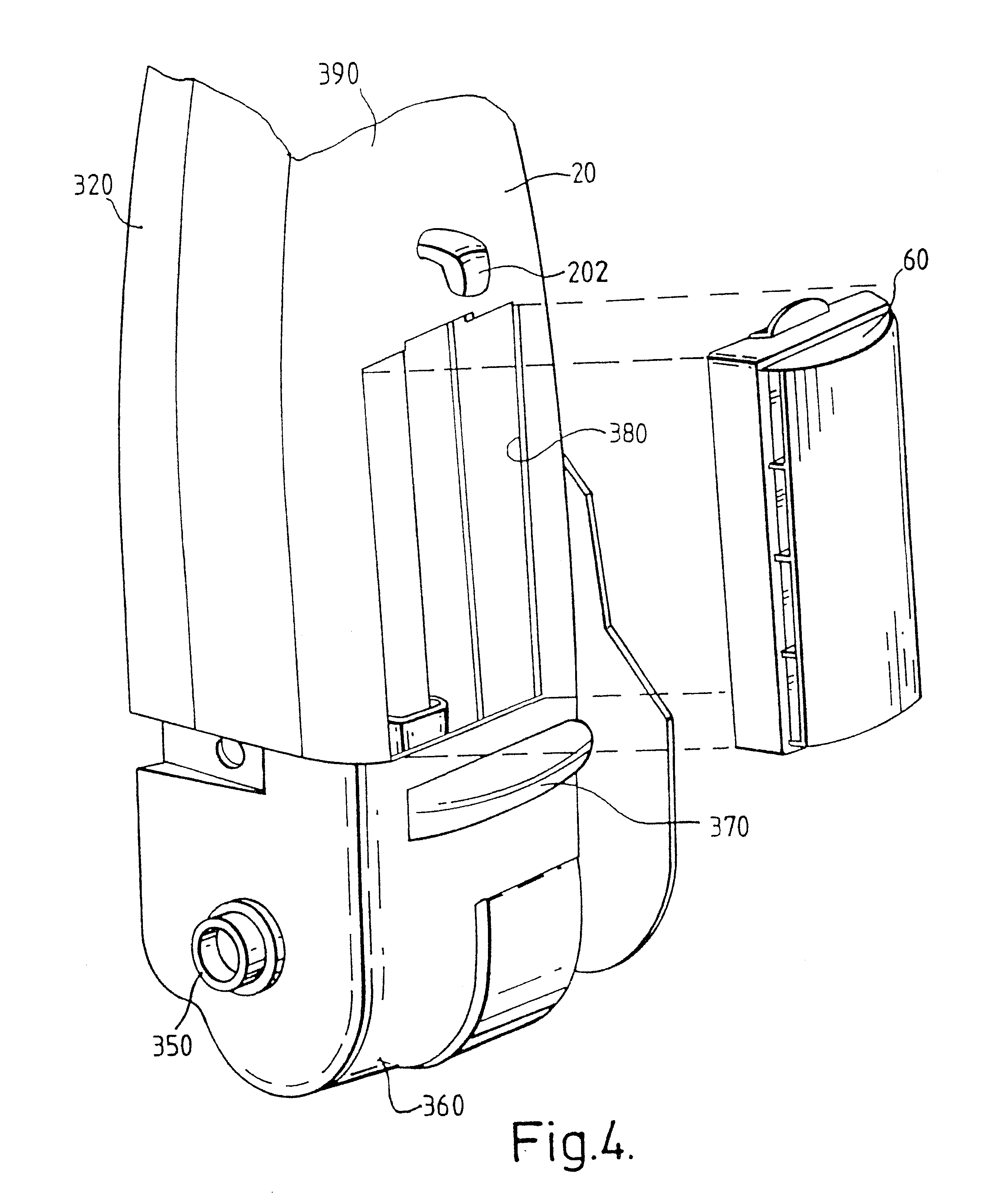 patent us6553611 - vacuum cleaner with thermal cutoff