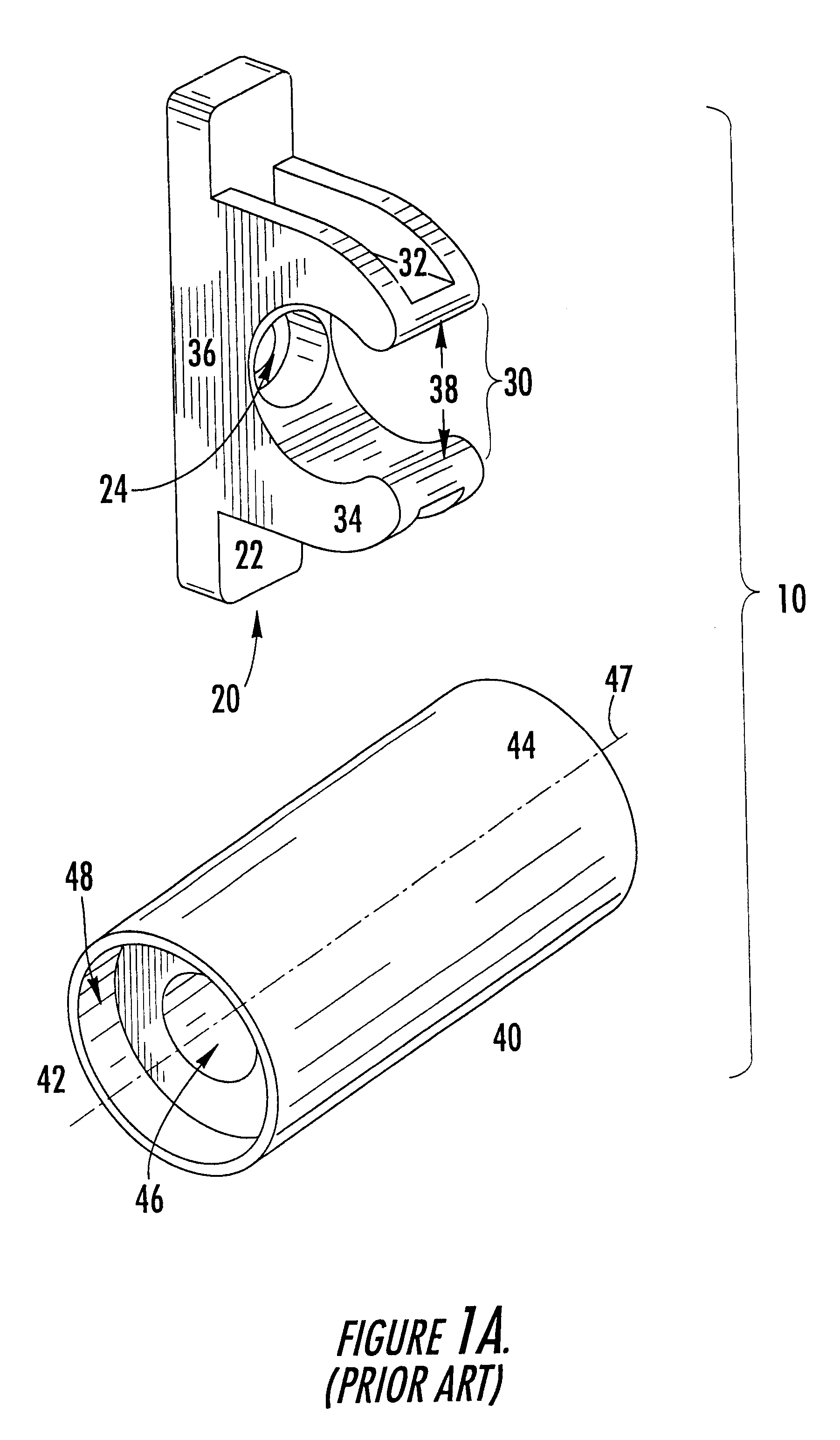 Kitchen cabinet false drawer clips - Patent Drawing