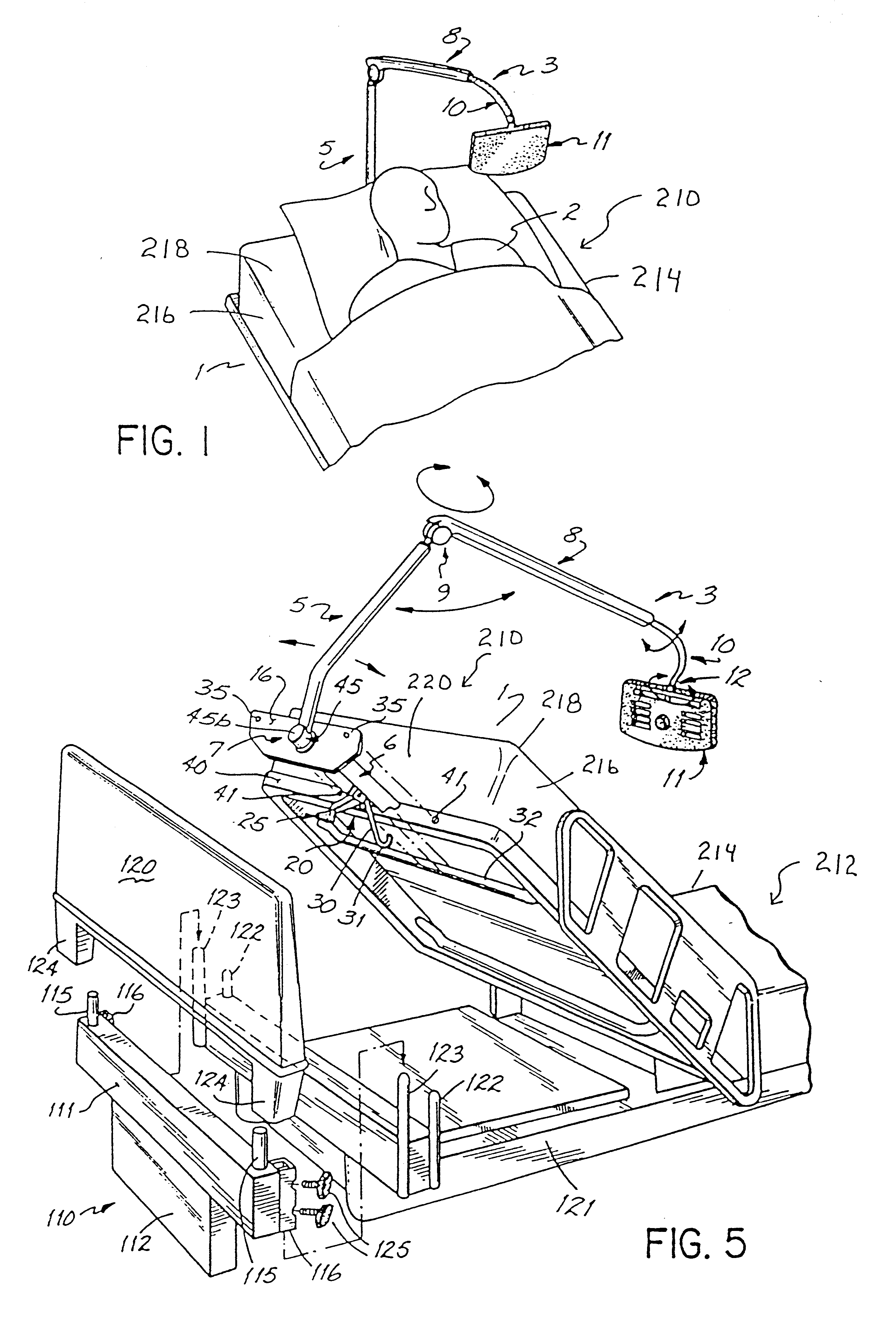 Patent Us6560798 Hospital Bed Communication And Control Device Remote Wiring Diagrams Drawing